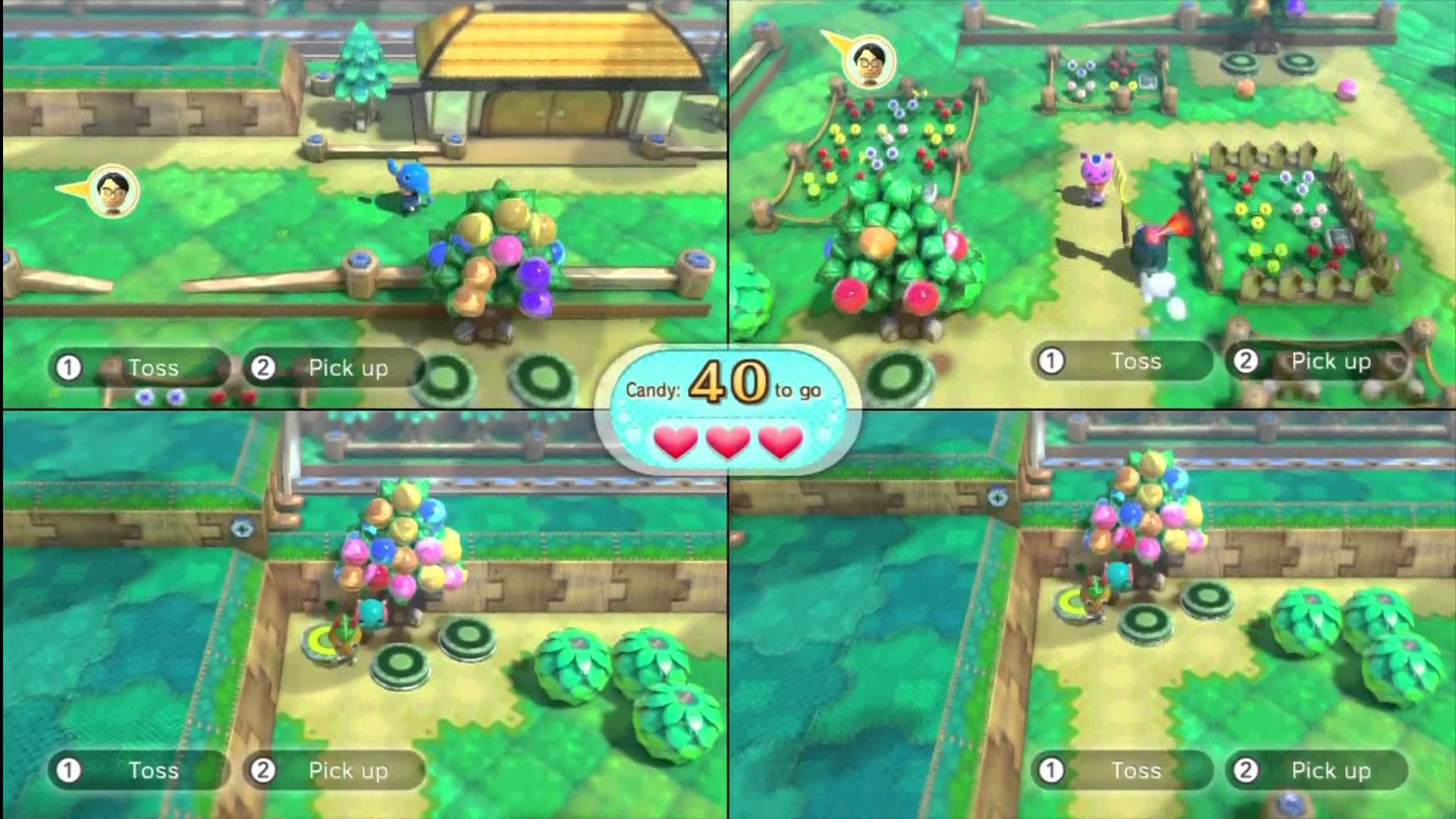 Q.E. NINTENDOLAND GAMEPLAY / REVIEW 1080p HD: Animal Crossing Sweet Day 5  Player