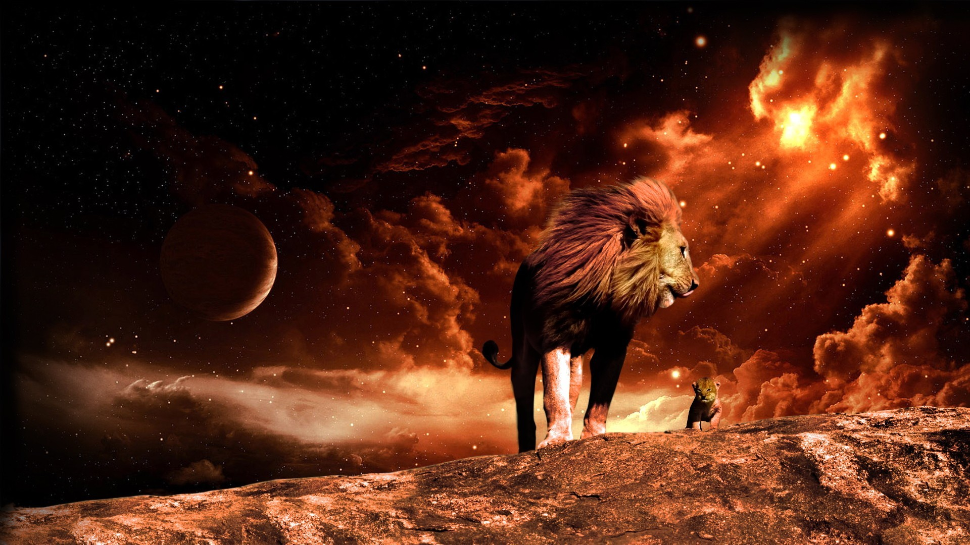 Artistic – Animal – Lion – Fire – Flame – Cgi – Digital Art – Manipulation  Wallpaper   Darkness – Autor Variado   Pinterest   Artistic wallpaper, …
