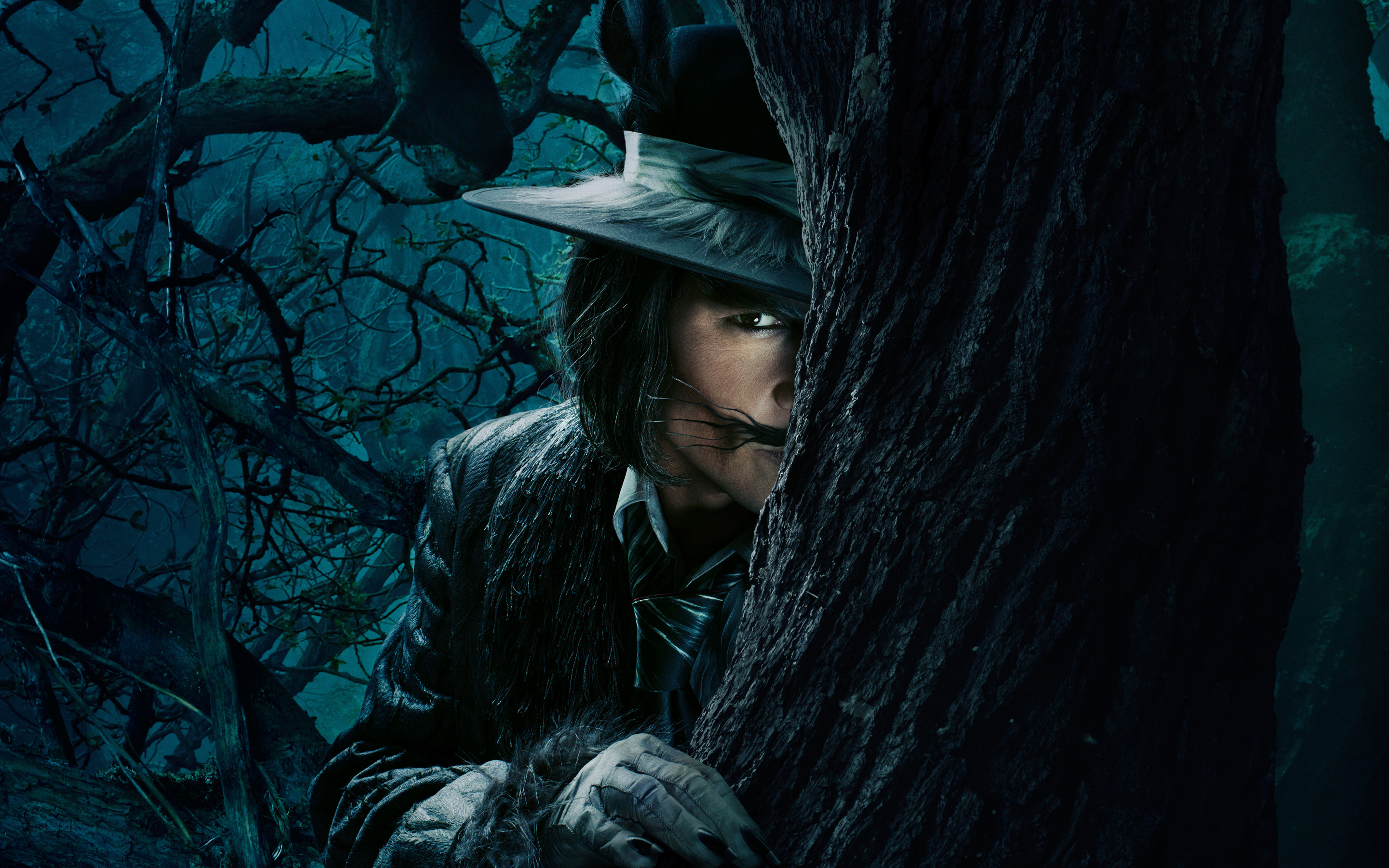 Johnny Depp The Wolf Into the Woods