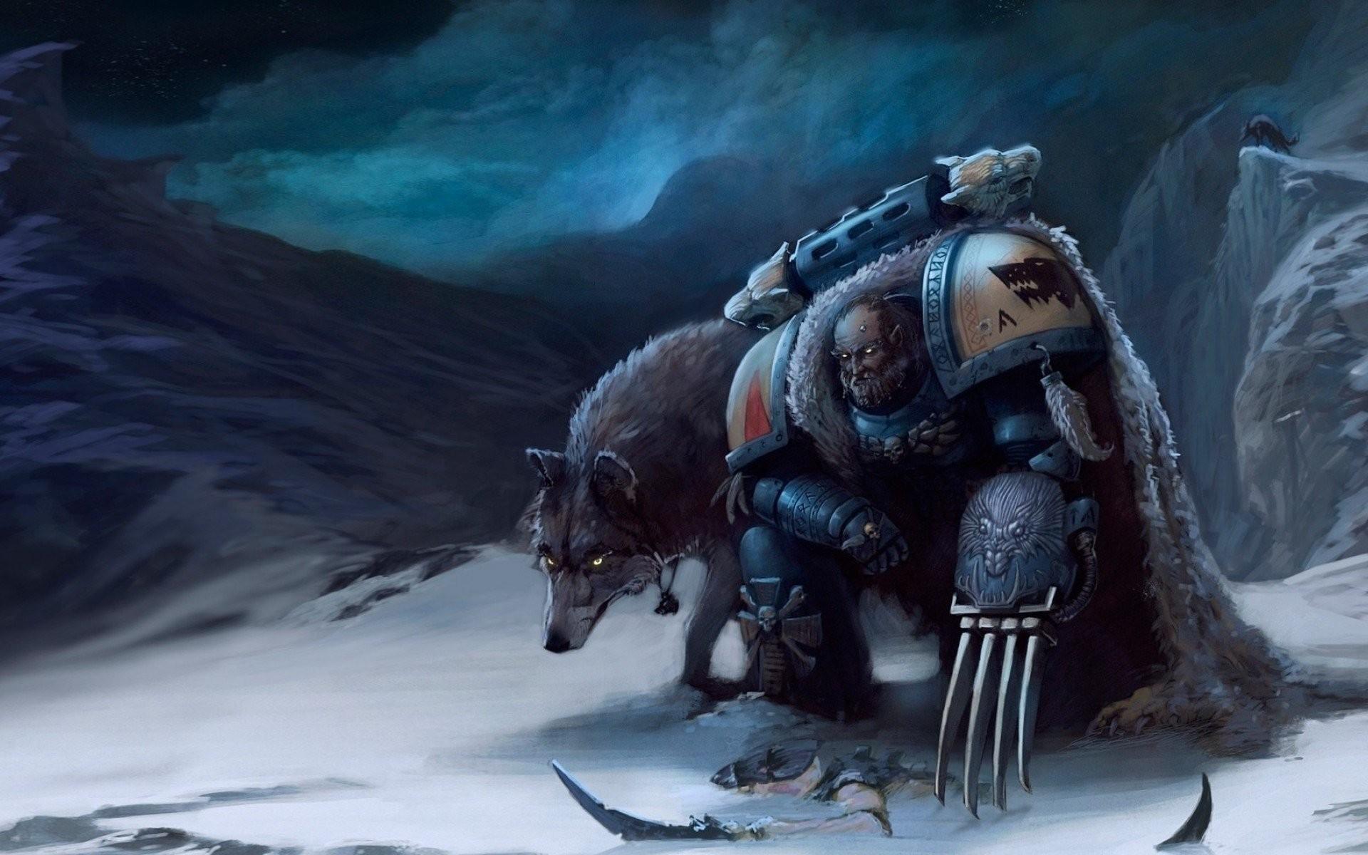 Warhammer 40K Space Wolves 834333