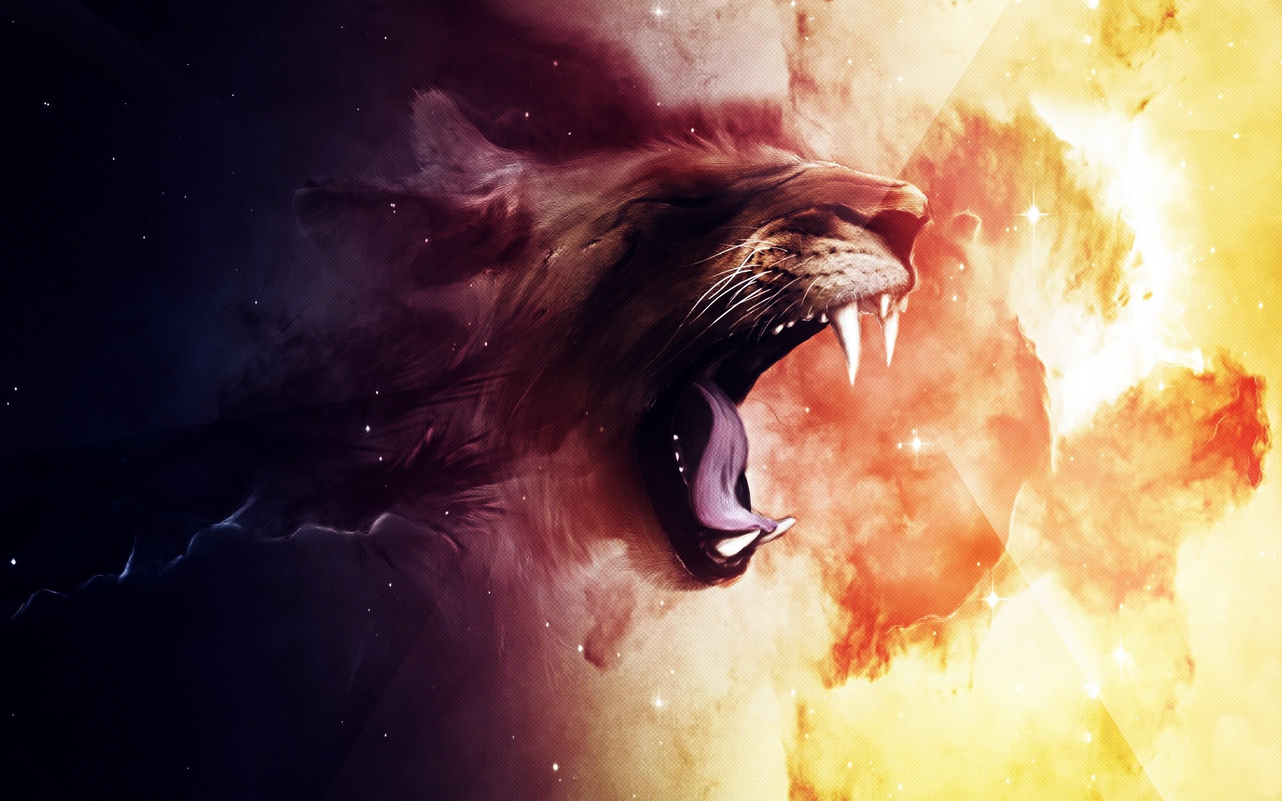 Roaring Lion Wallpapers | HD Wallpapers