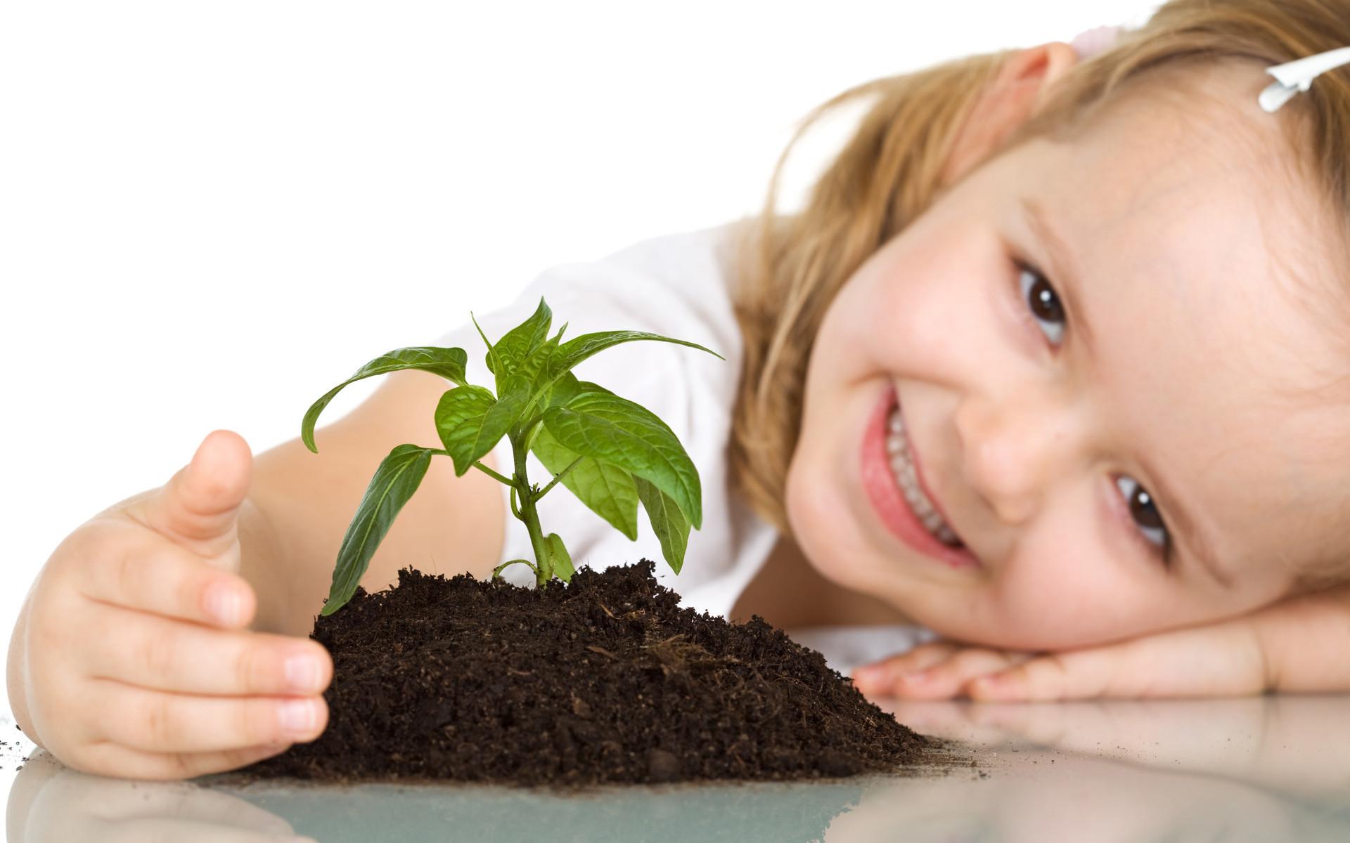 Cute Baby Girl Plant