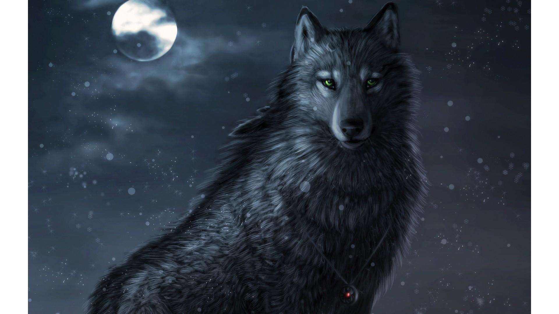 Animated Wolf – – 470392