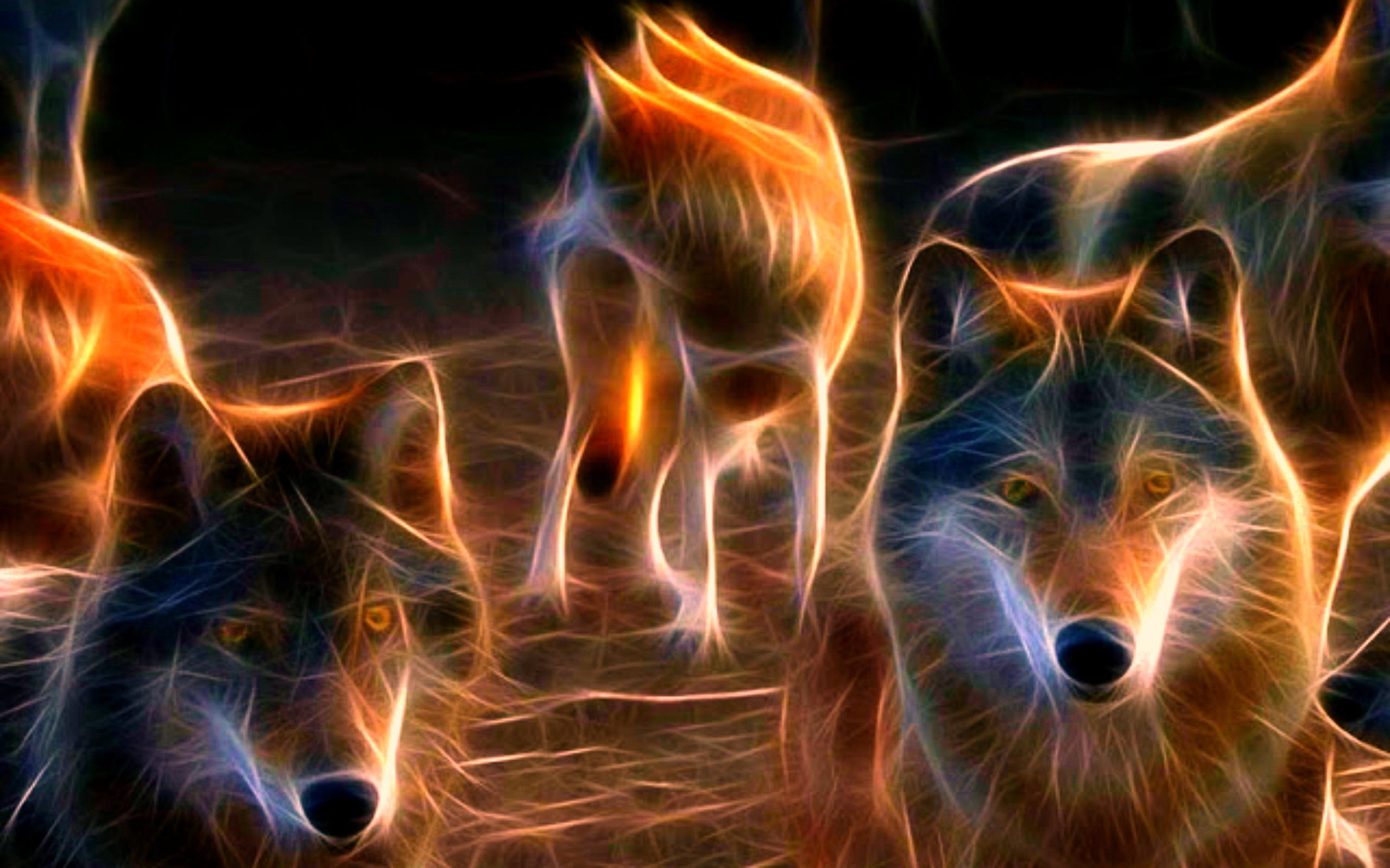 WOLF wolves predator fractal g wallpaper | | 195230 .