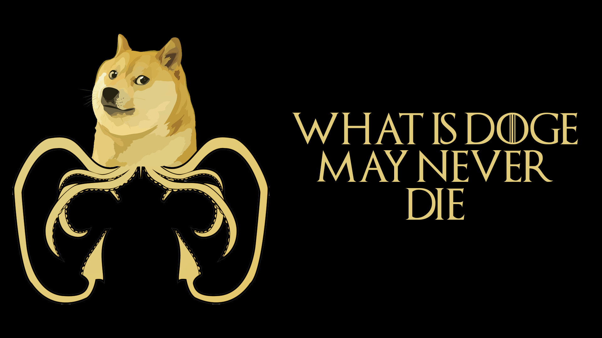 Dogecoin: I made a doge wallpaper for all the Game of Thrones shines [No  Spoilers]