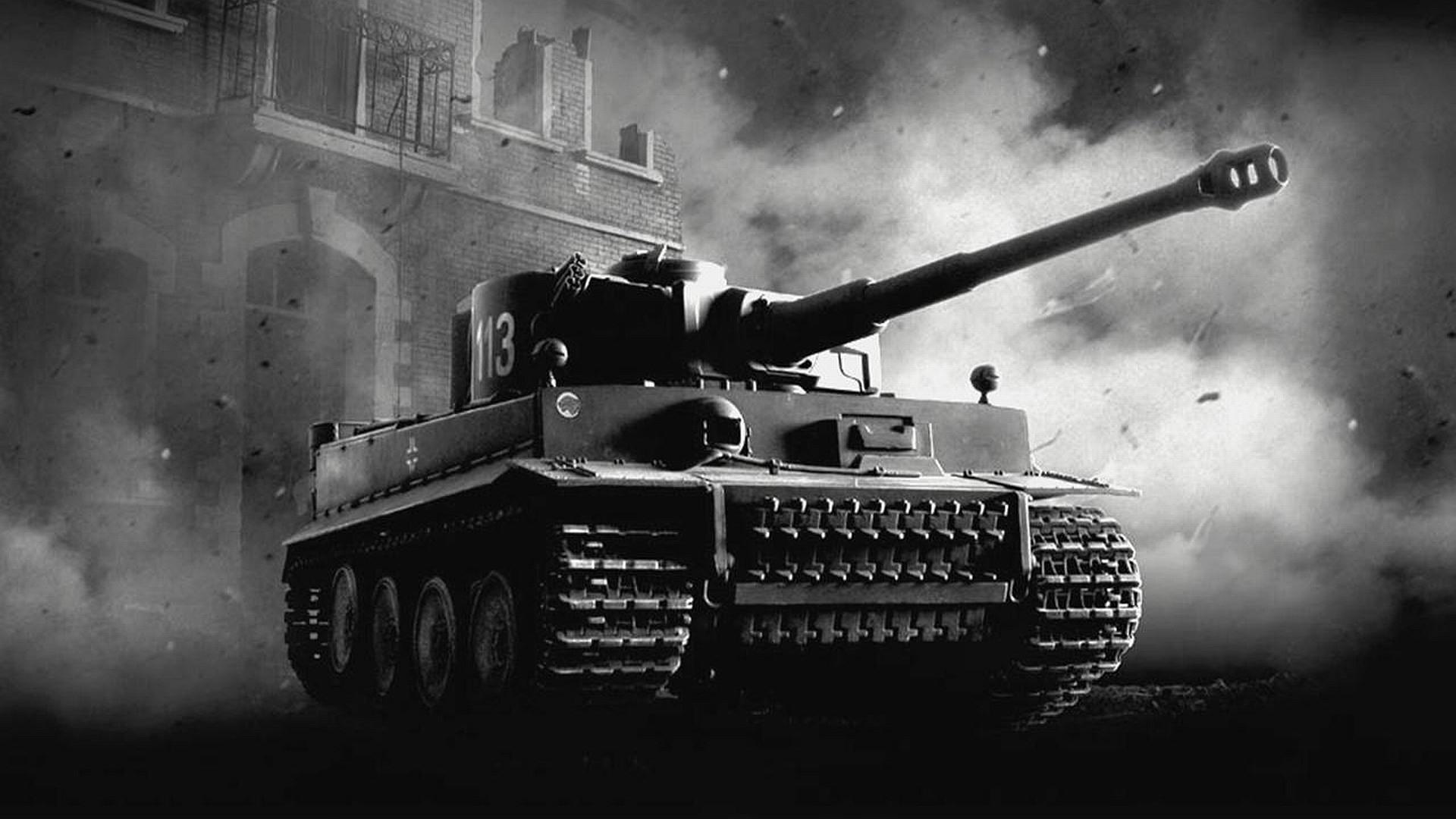 Military – Tank Tiger Tank Wallpaper