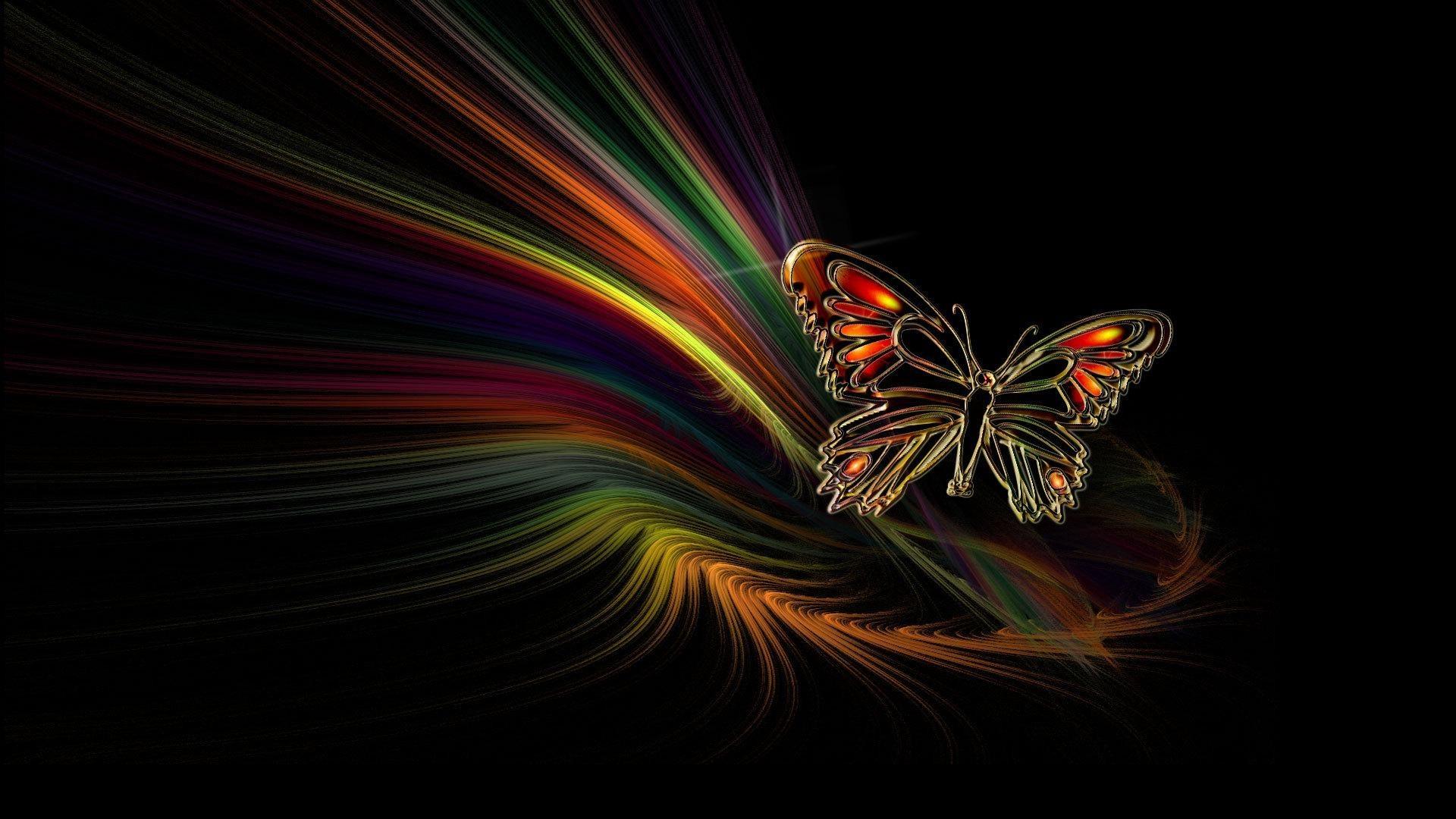 Animated Butterflies Wallpaper 0 HTML code. Butterfly Animated fond ecran hd