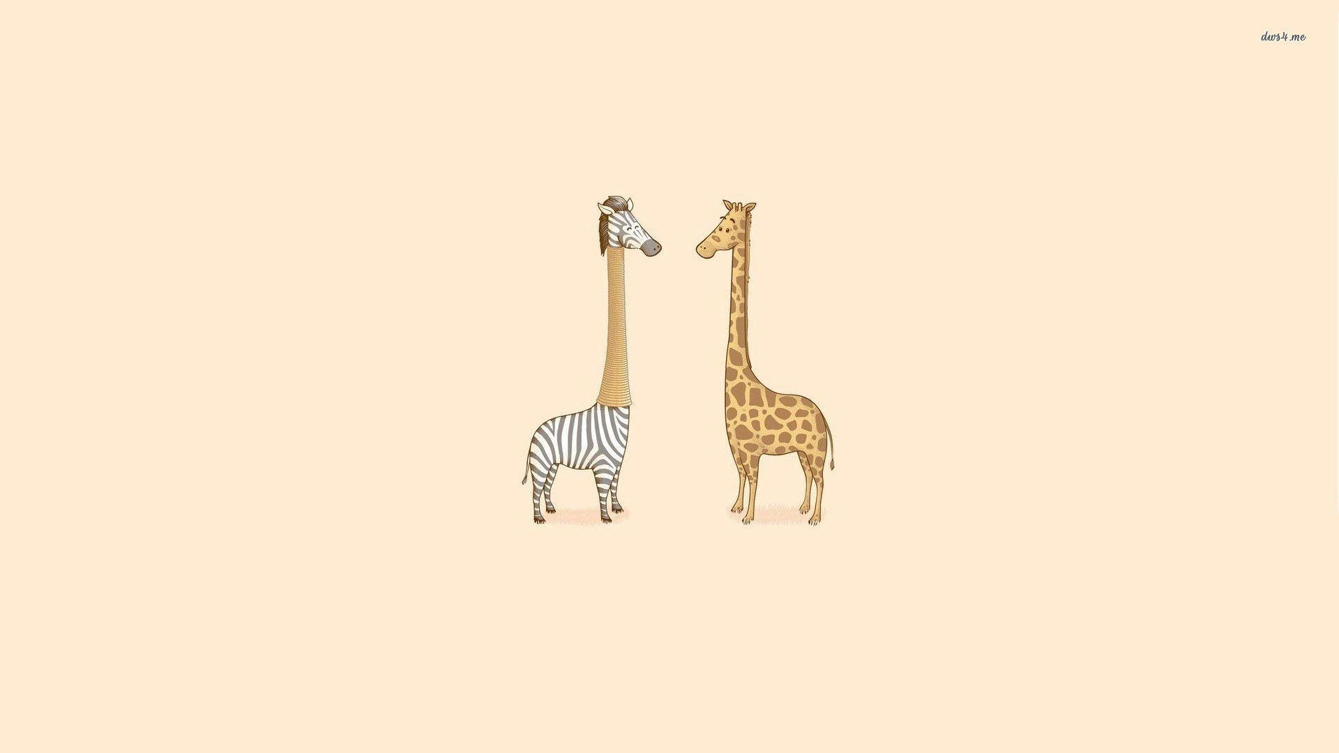 Giraffe Wallpaper 1920×1080