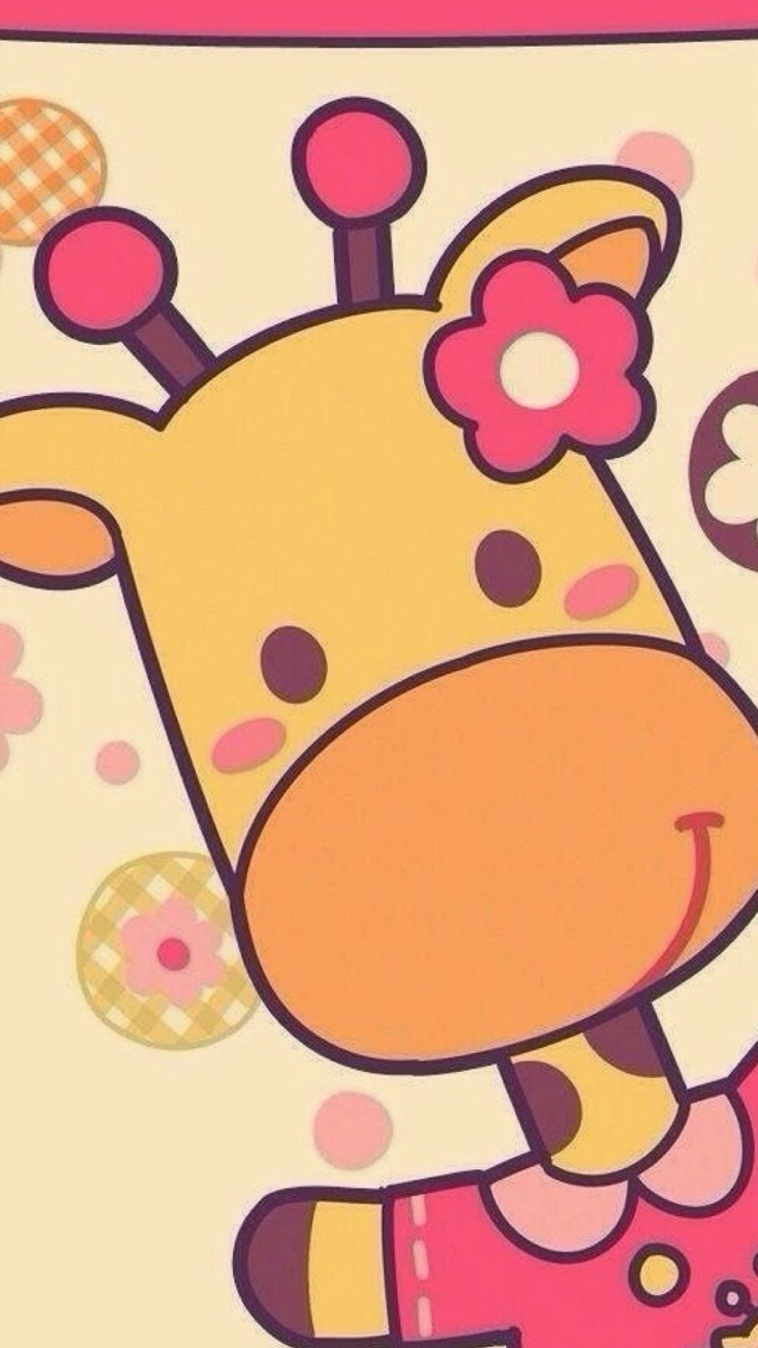 Cute giraffe iphone wallpaper – photo#9