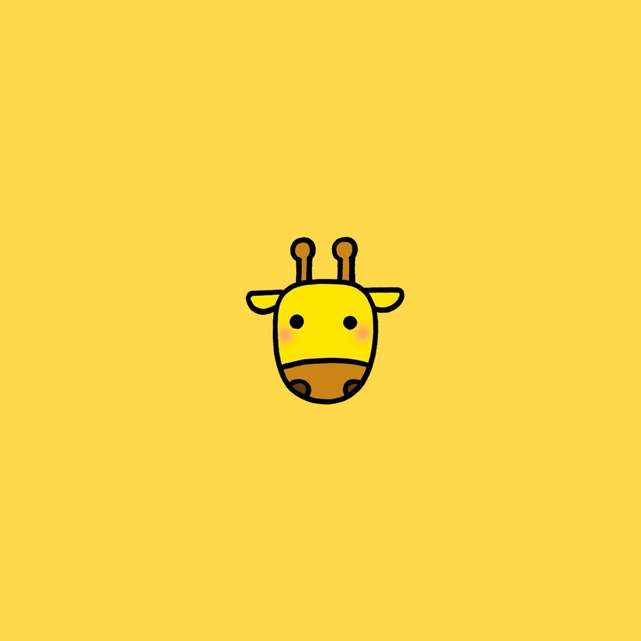Giraffe wallpaper for all iPad from mobile9.com