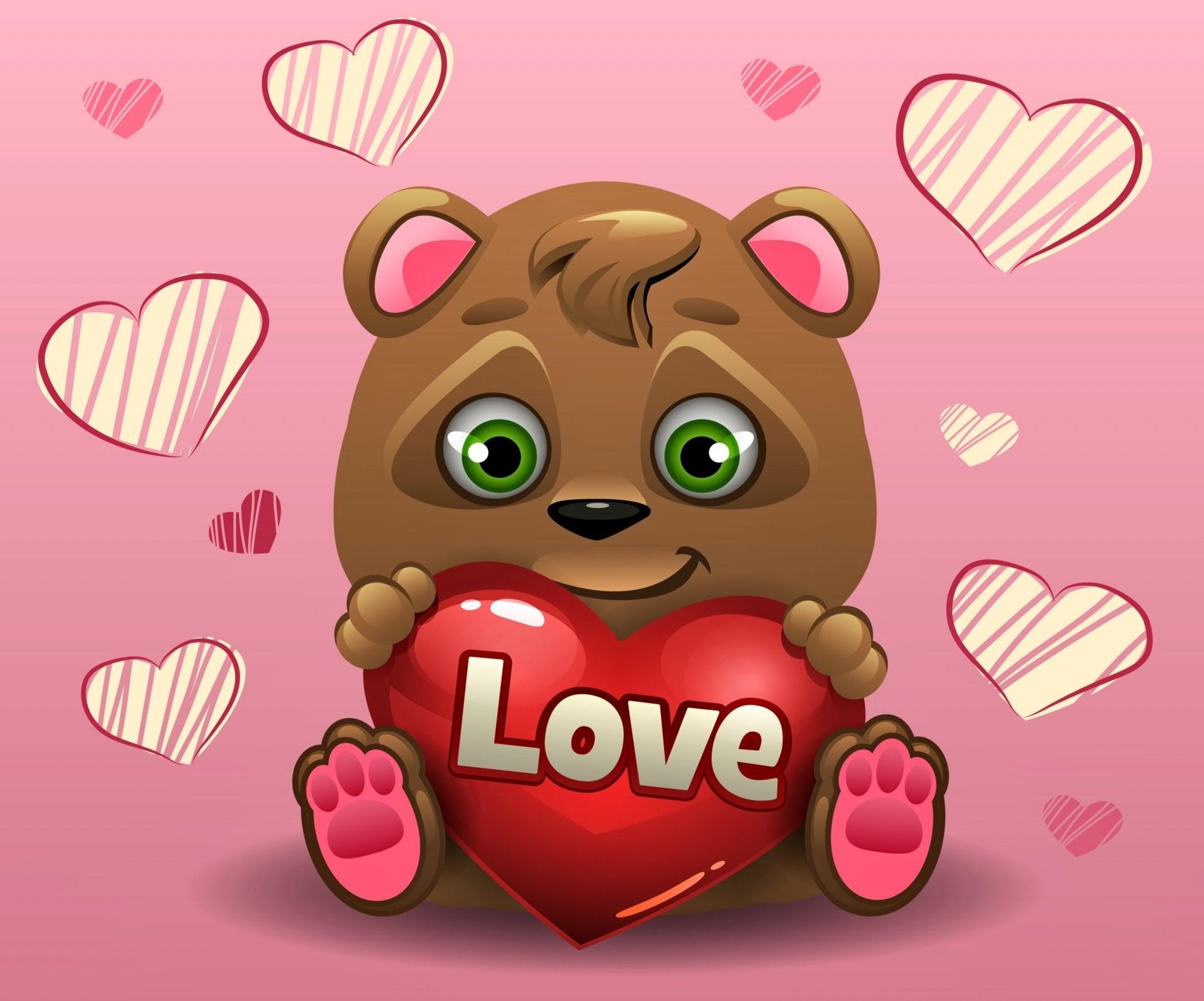 valentine's day love heart romantic teddy bear heart teddy bear