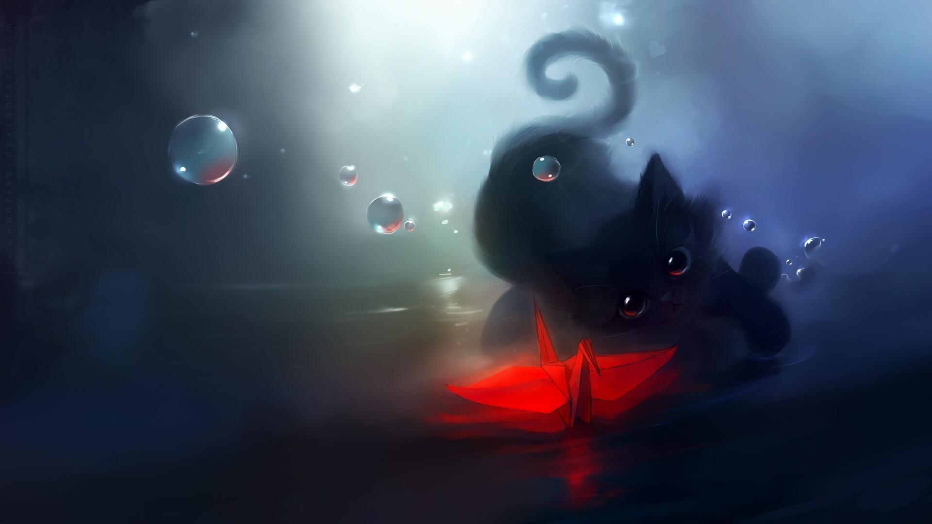 wallpaper.wiki-HD-Cartoon-Cat-Background-PIC-WPE0011401
