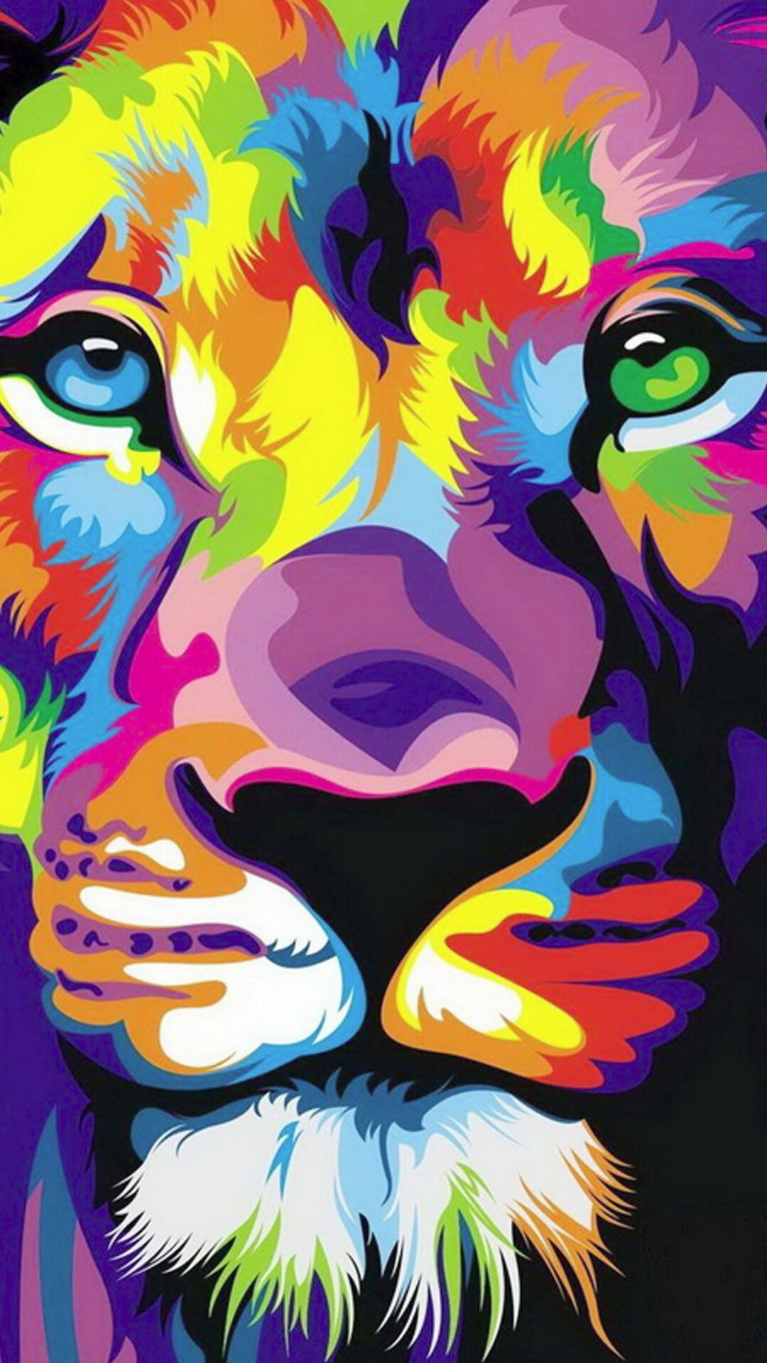 Illustrations · Eye ArtArtworkRainbowIphone 6 WallpaperLion …
