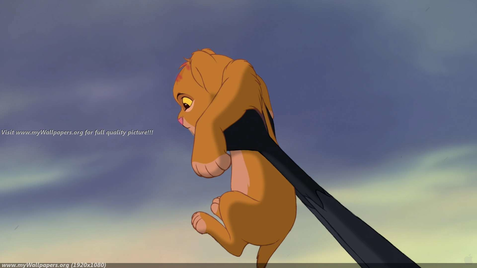 The Lion King Cartoon HD Image Wallpaper for iPhone