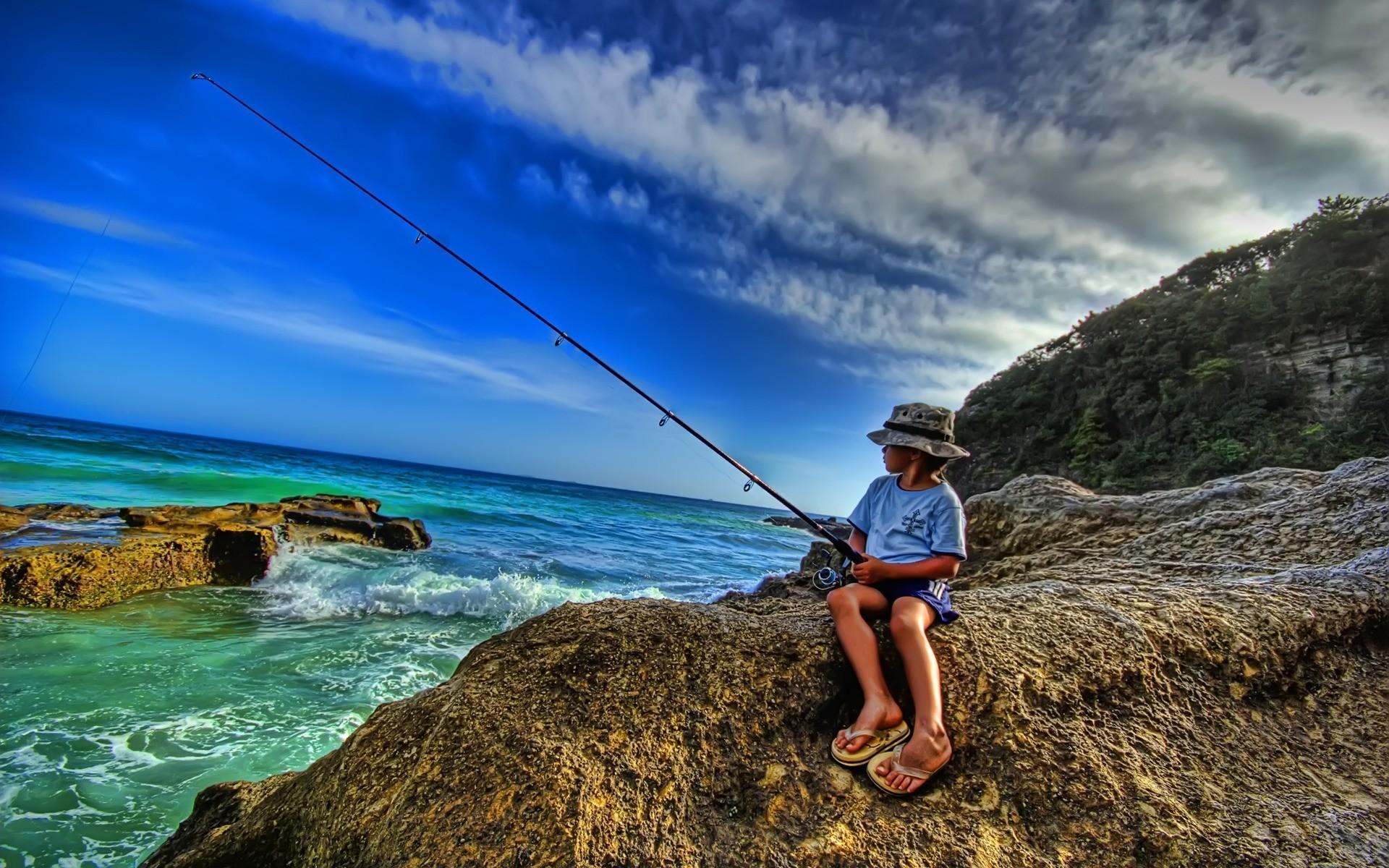 Saltwater Fishing Wallpaper