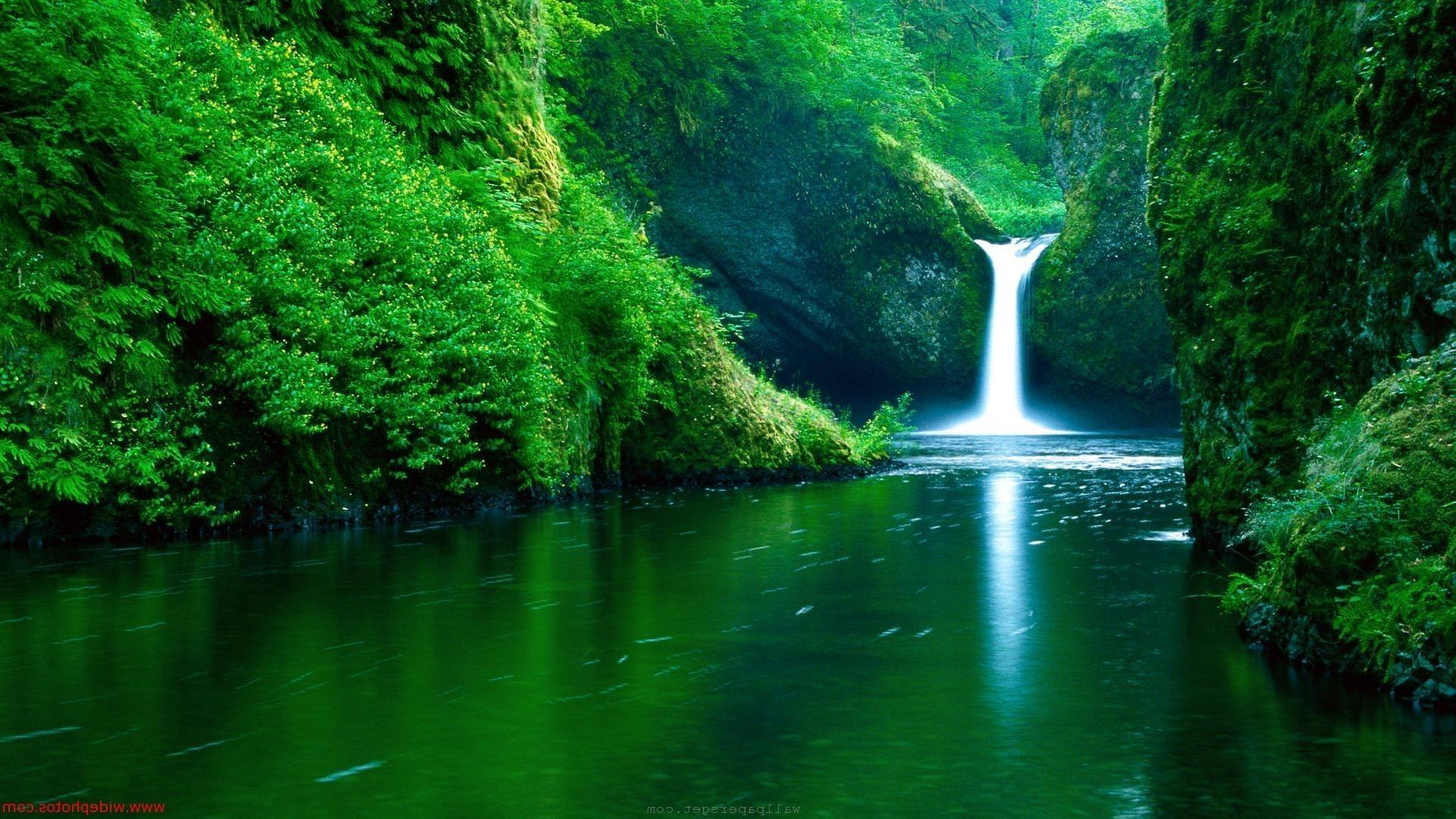 High Resolution Nature Desktop Backgrounds Waterfall