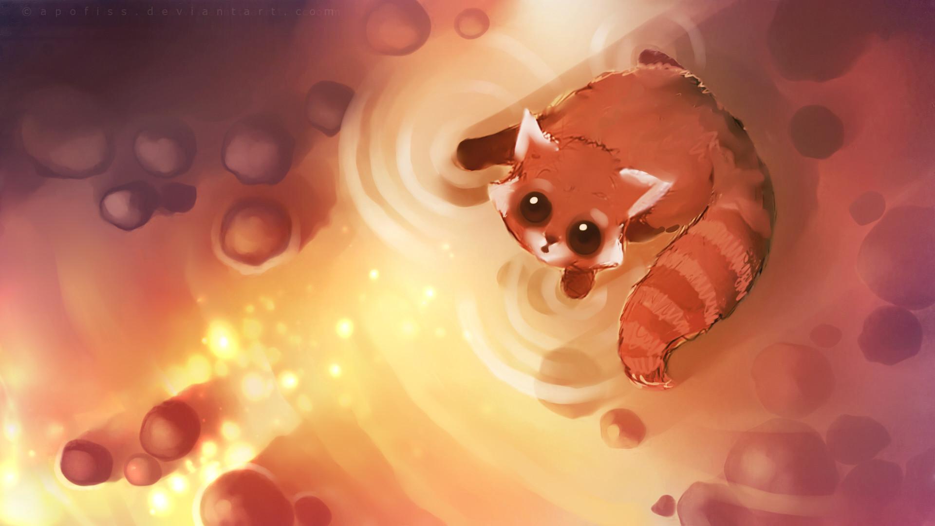 Download Cute Fox Cartoon Wallpaper | HD Wallpapers – #