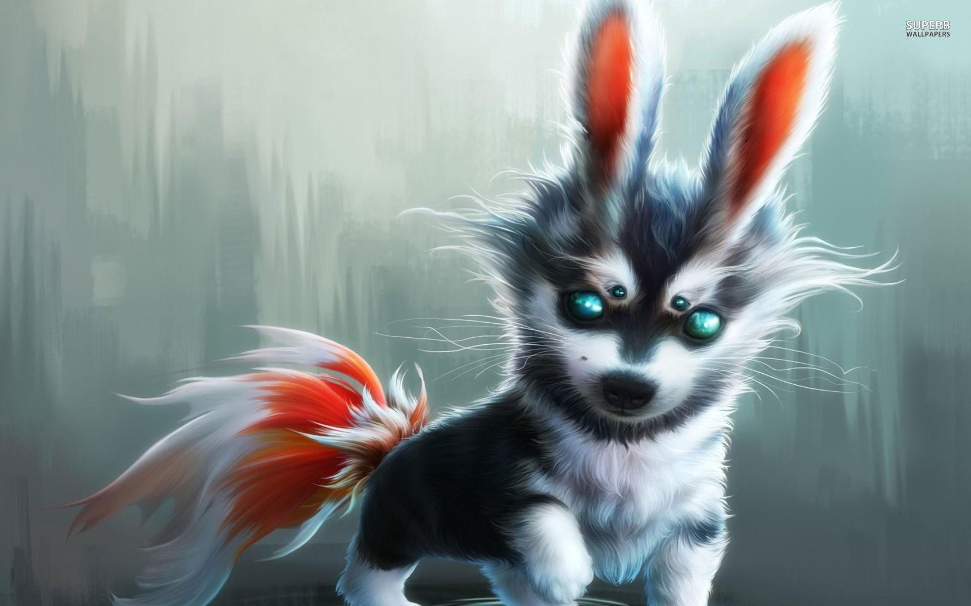 Cute Wolf Cub