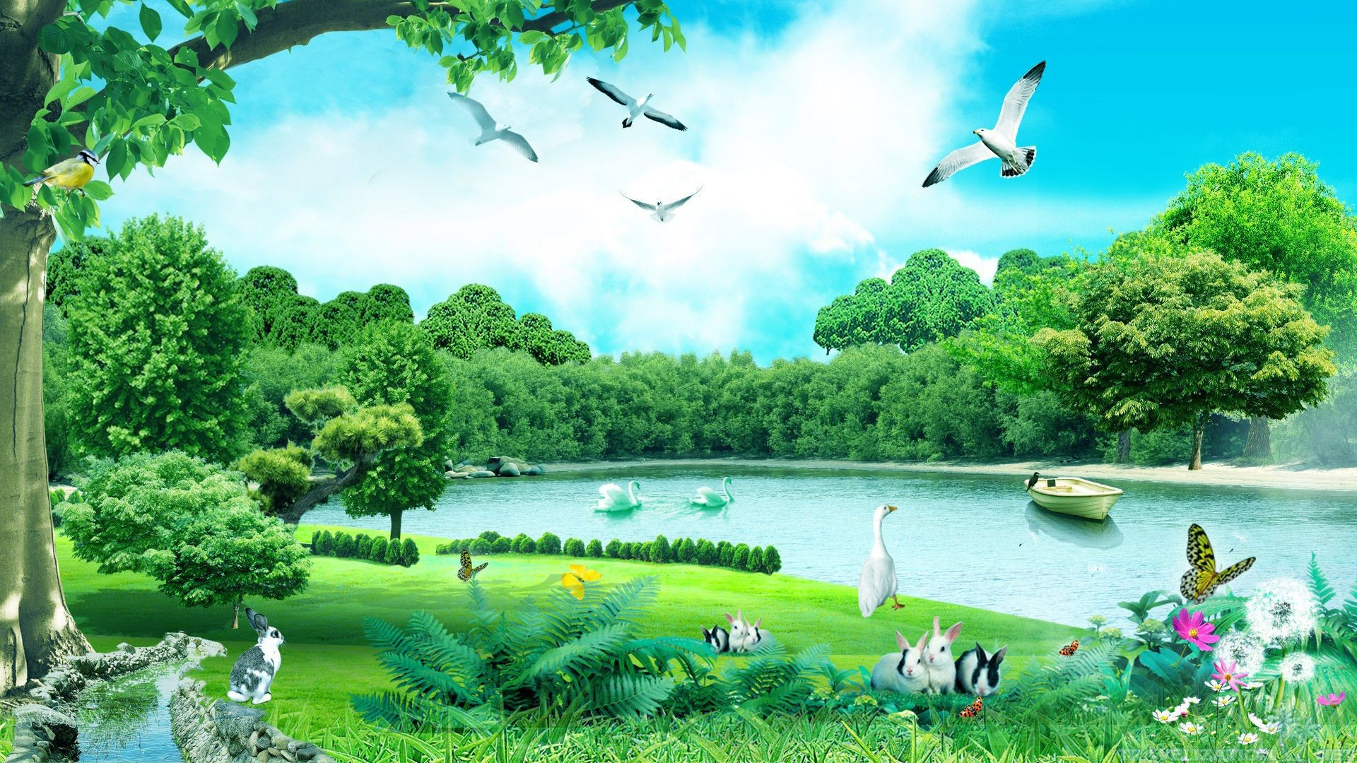 Nature Animals Forest