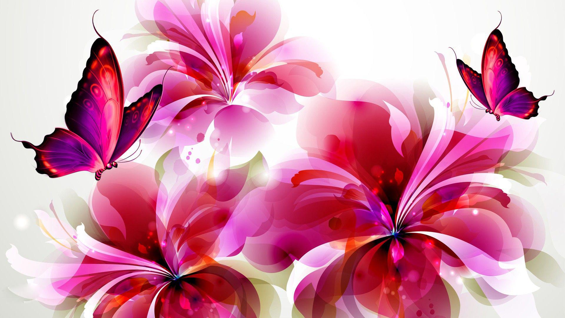 Wallpaper Flowers and Butterflies | Beautiful Flowers and Butterflies  Wallpapers Free Download | ANIMATED BKDS. | Pinterest | Beautiful flowers,  Wallpaper …