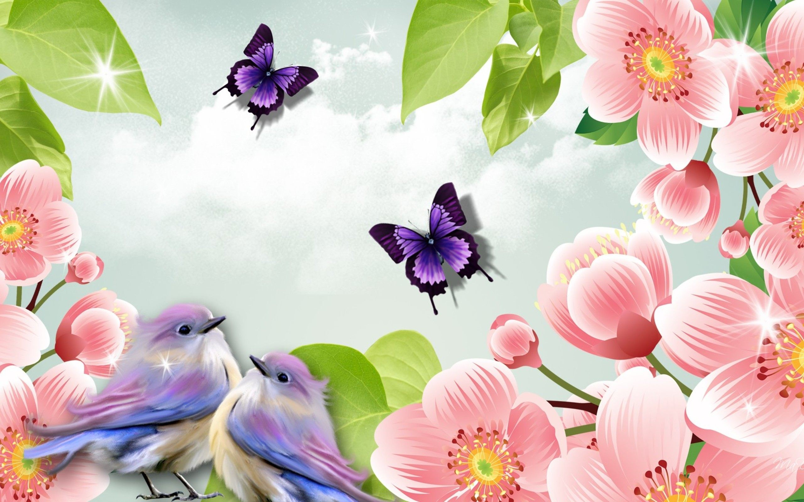 Beautiful Butterflies Nature Wallpaper | HD Animals and Birds .