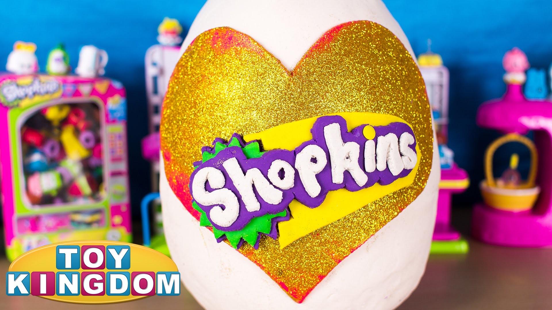 Shopkins Giant Play Doh Surprise Egg – Shopkins Surprise Eggs, Tokidoki  Hello Kitty Frenzies – YouTube