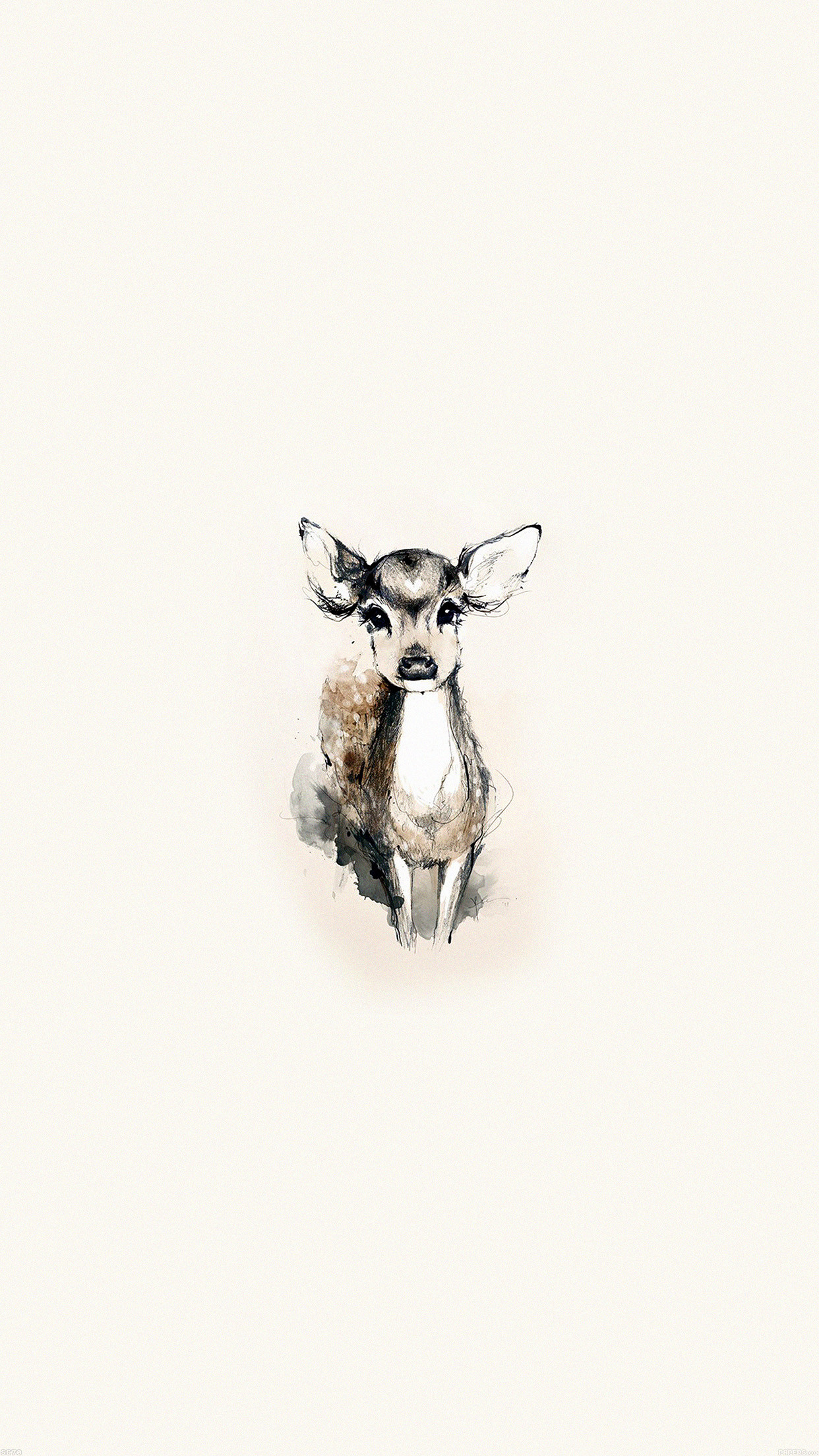 Tiny Deer Illustration iPhone 6 Plus HD Wallpaper 576×1024 – Latest Cool  Iphone Backgrounds