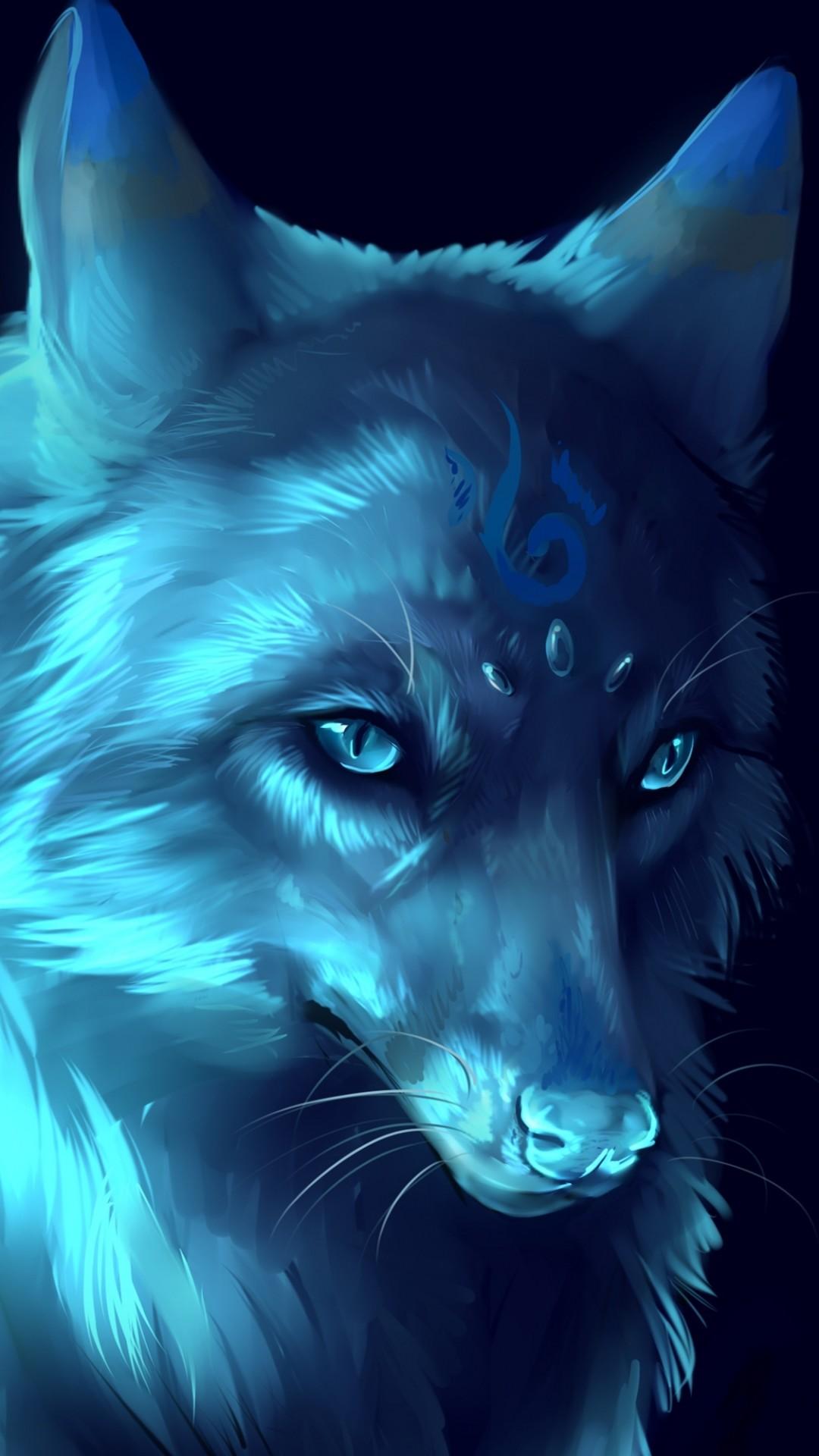 iPhone 6 – Fantasy/Wolf – Wallpaper ID: 596169