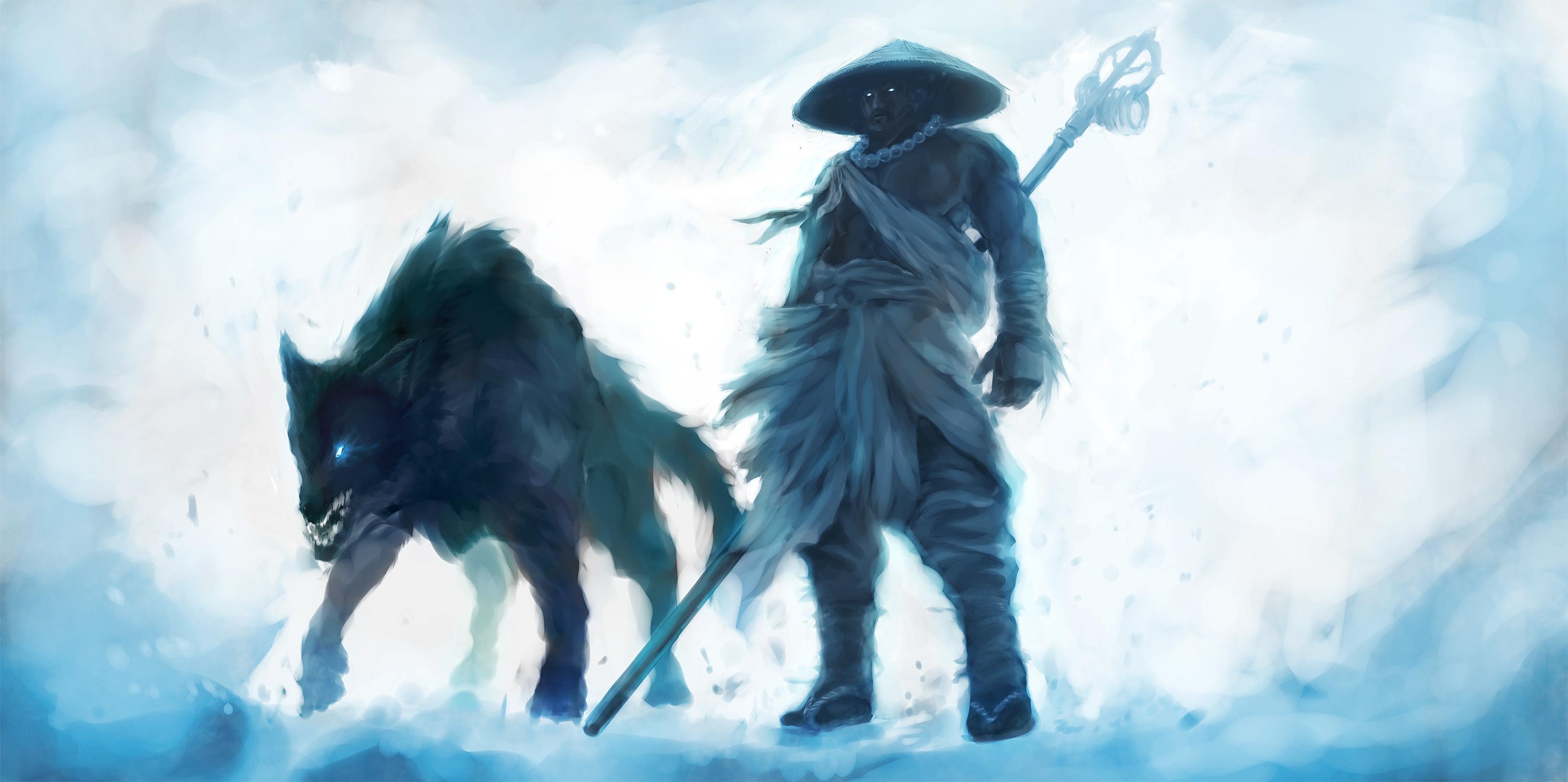 Ice-Wolf by dosie Ice-Wolf by dosie