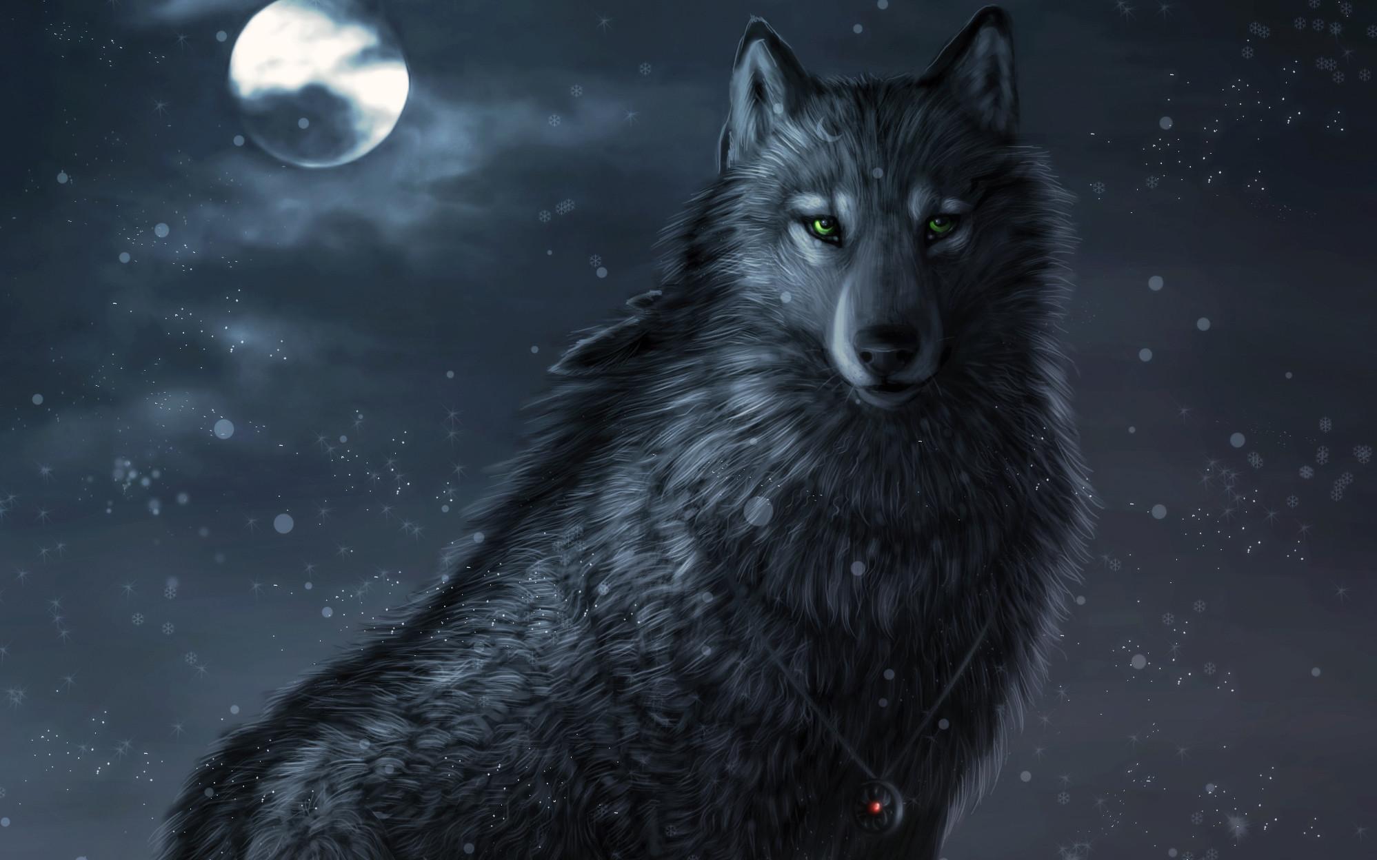 Wallpapers, Desktop Backgrounds | | ID:229738 Cool Fire Wolf .