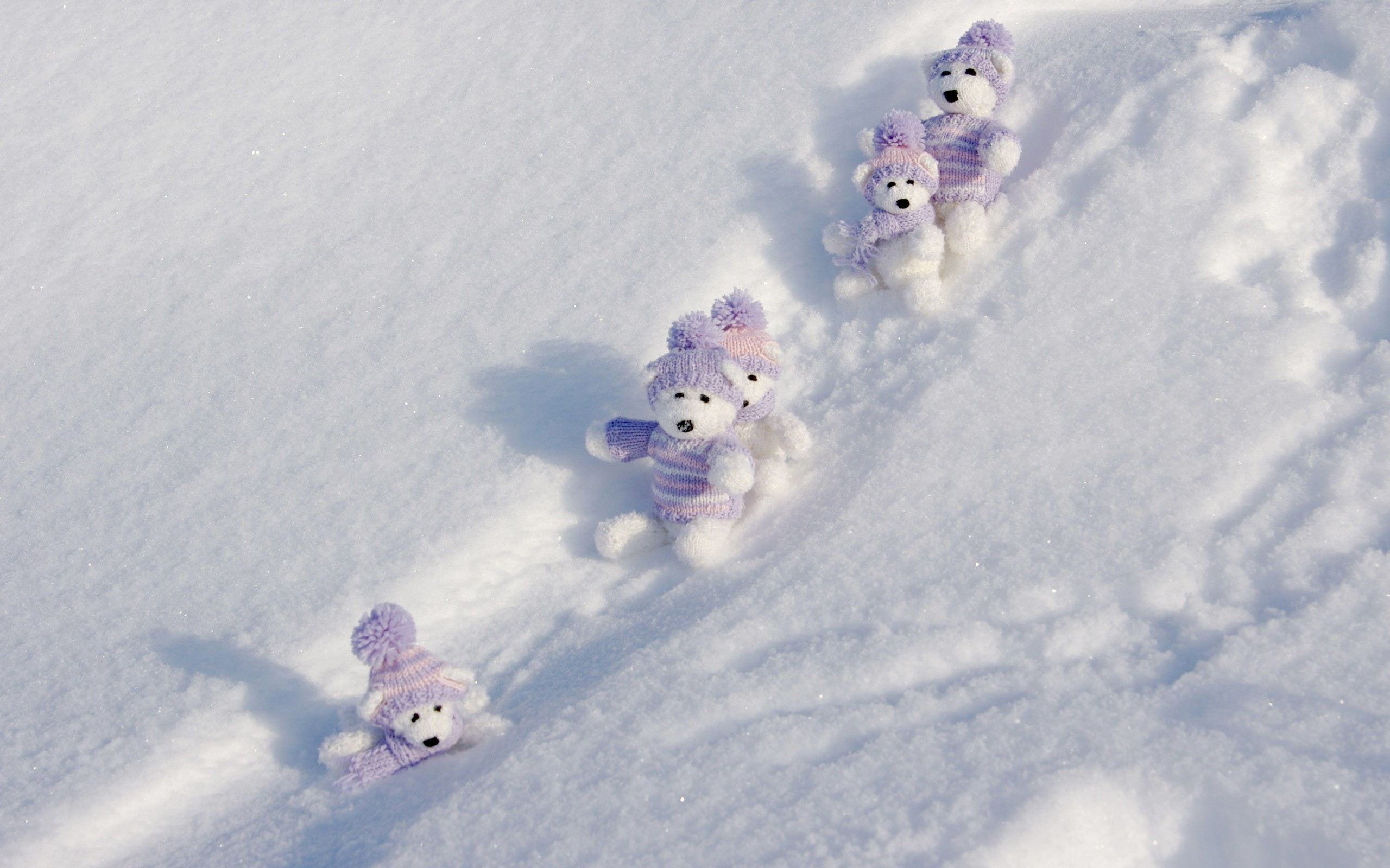 Winter Teddy Bears wallpapers | Winter Teddy Bears stock photos