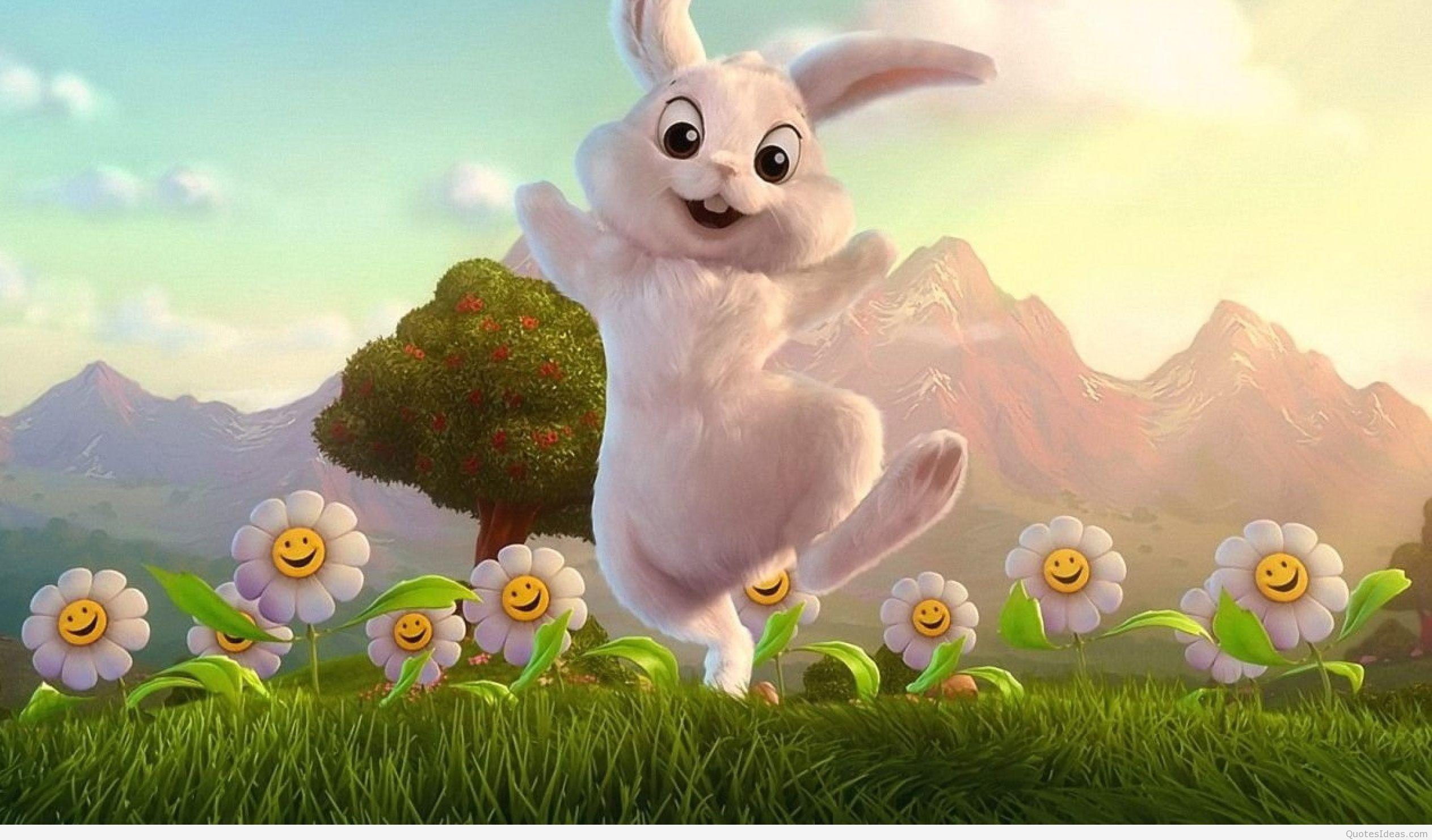 … happy-easter-bunny-wallpaper-2560×1600 …