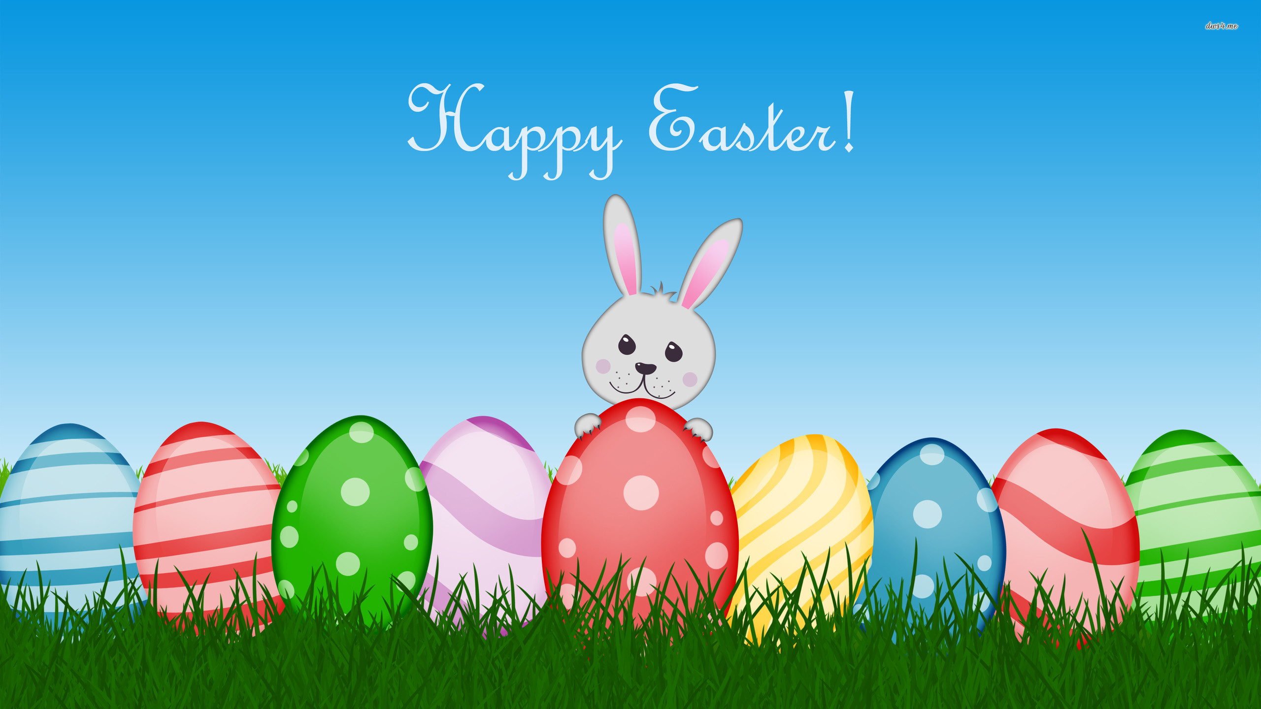 Happy Easter Backgroundjpg