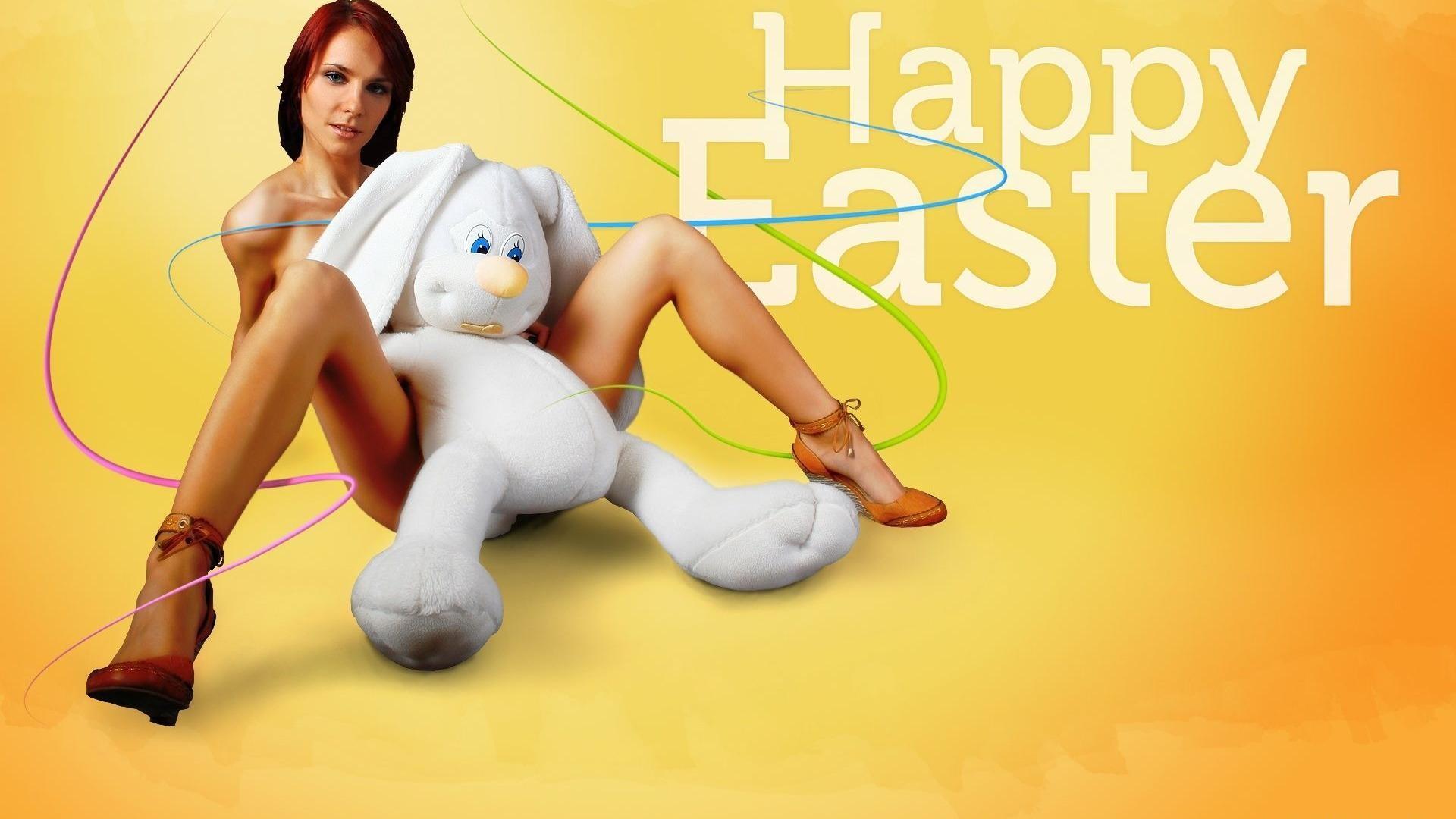Happy Easter Bunny 2013 HD Wallpaper