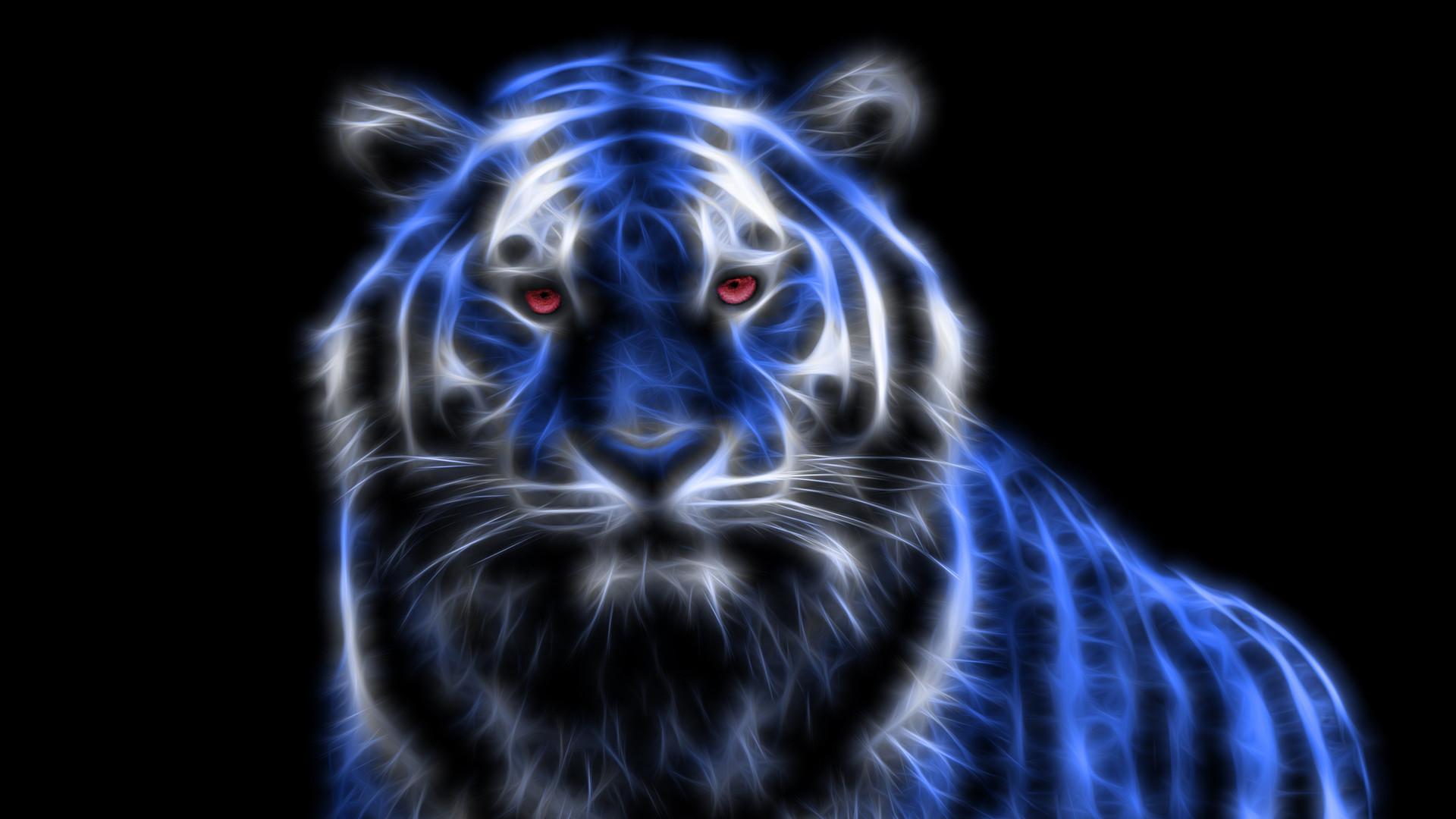 Neon tiger Wallpaper #30888