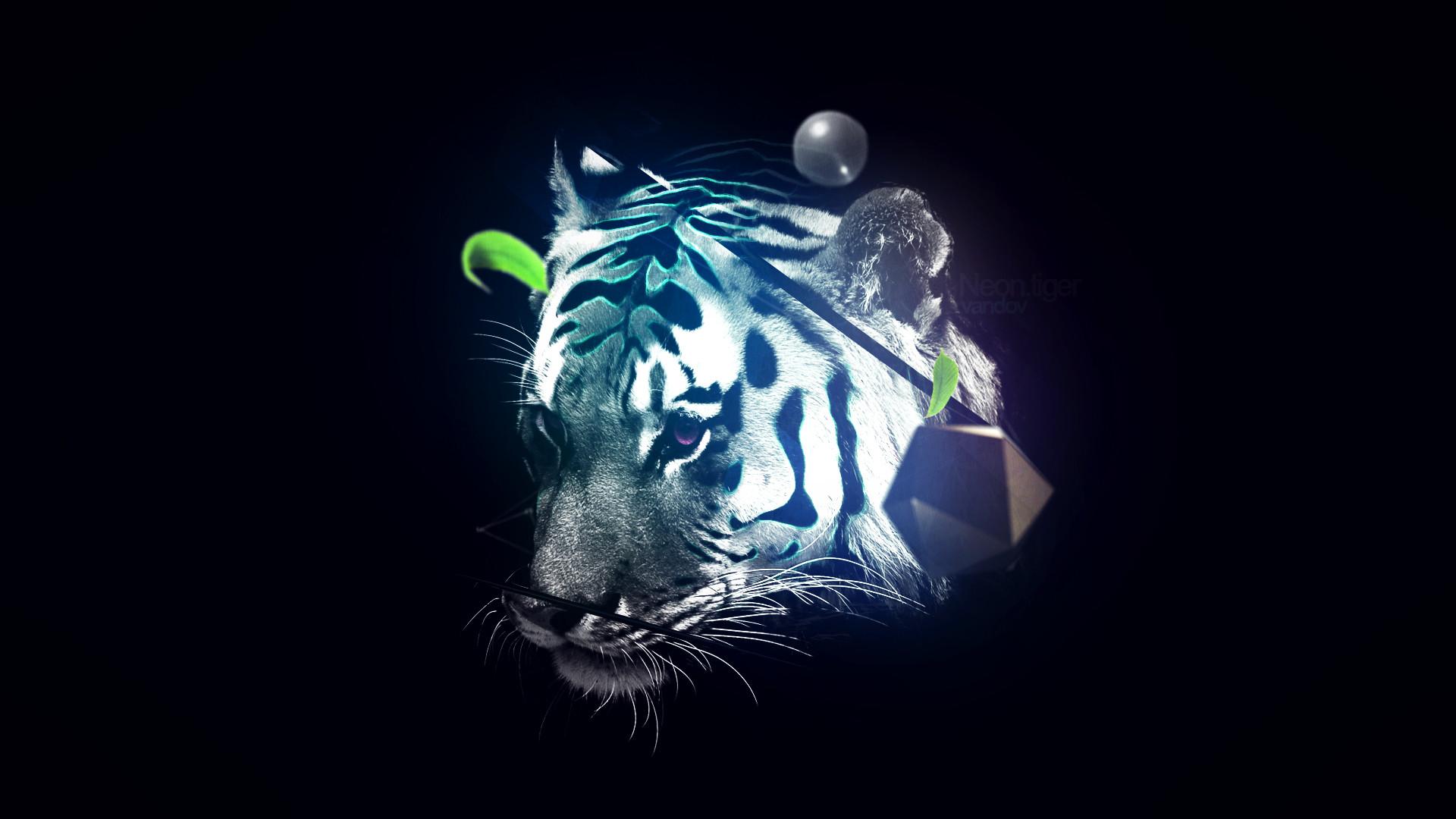 Neon Tiger by DateArts1 Neon Tiger by DateArts1