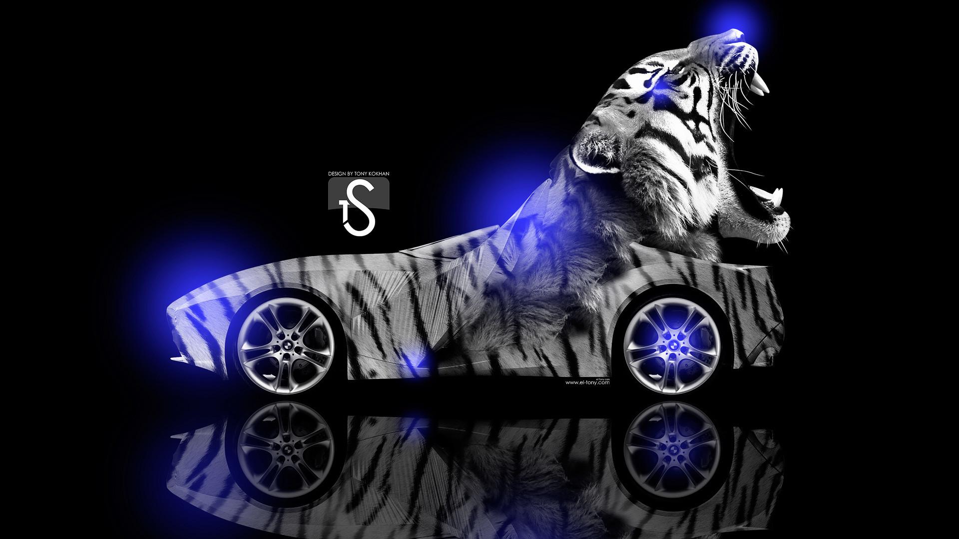 … BMW-Gina-Light-Visions-Tiger-Blue-Neon-2013- …