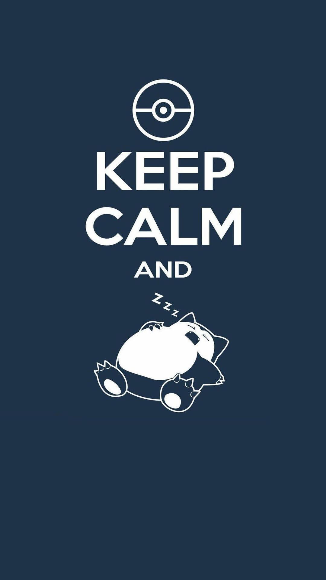 How to download HD Keep calm Panda iPhone Wallpaper:-