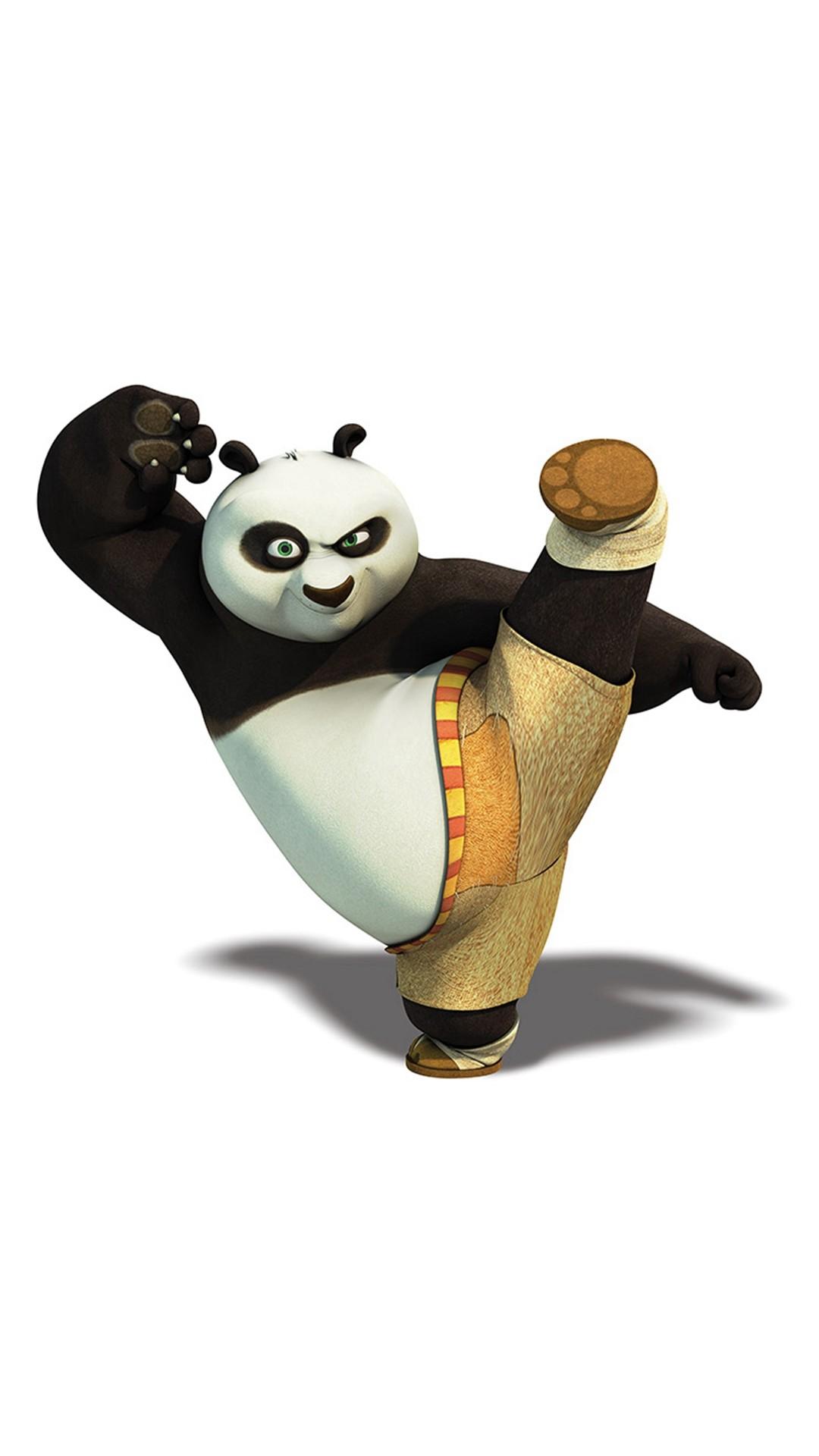Kungfu Panda Dreamworks Animal Kick Cute Anime iPhone 8 wallpaper
