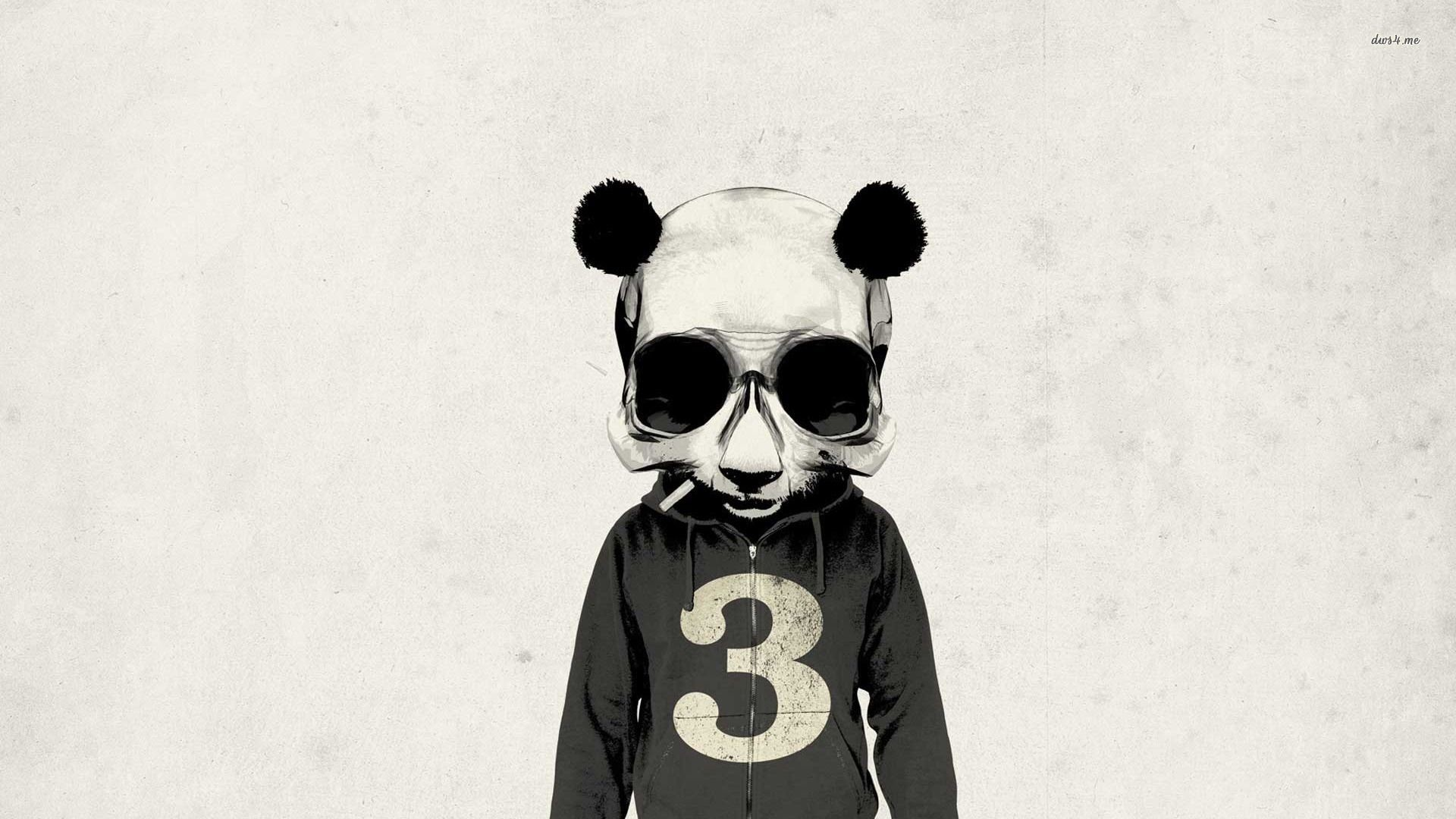 Panda skull wallpaper – Digital Art wallpapers – #11562