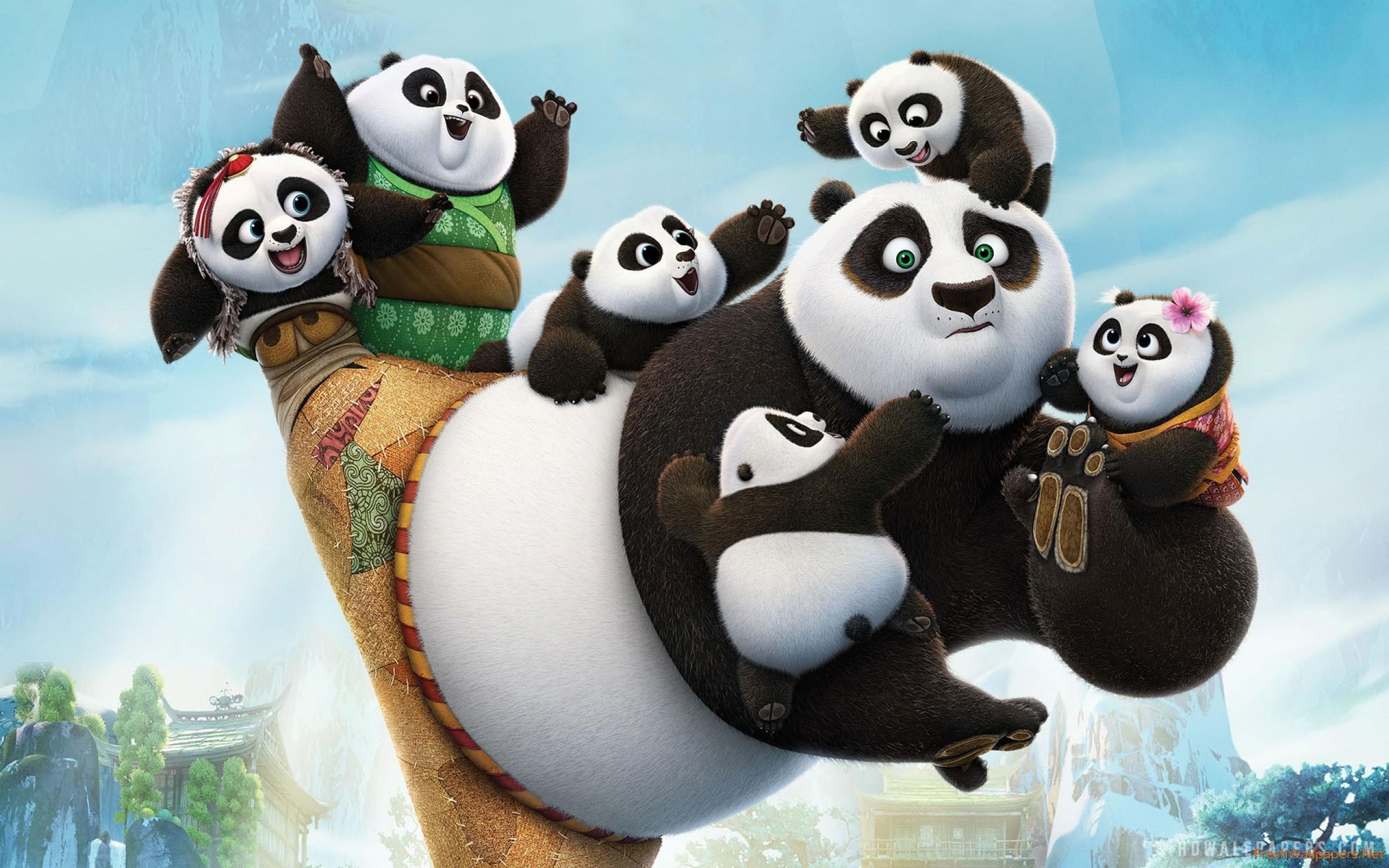 Kung Fu Panda 3 iPhone wallpapers