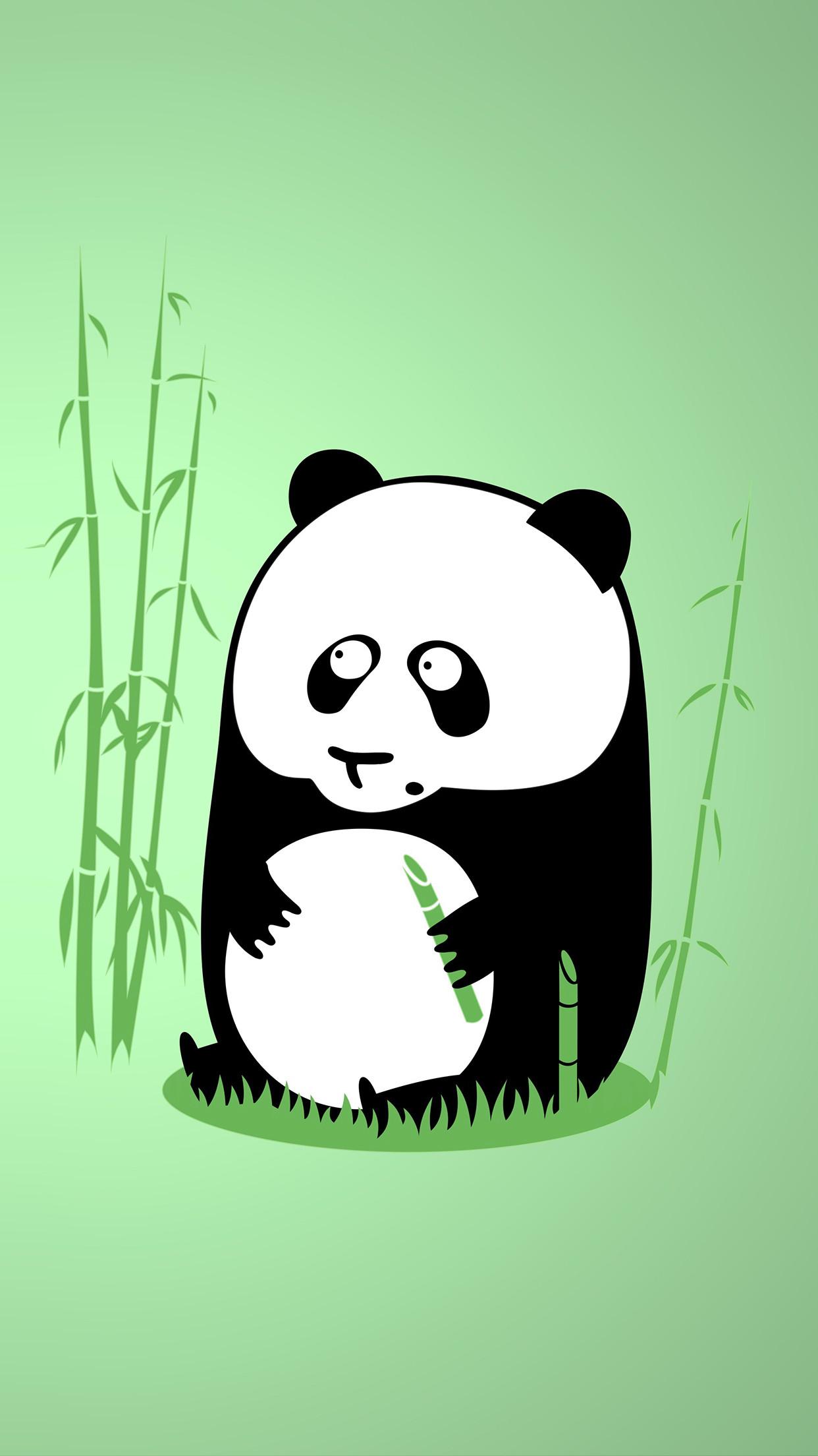 Panda-art-3Wallpapers-iPhone-Parallax