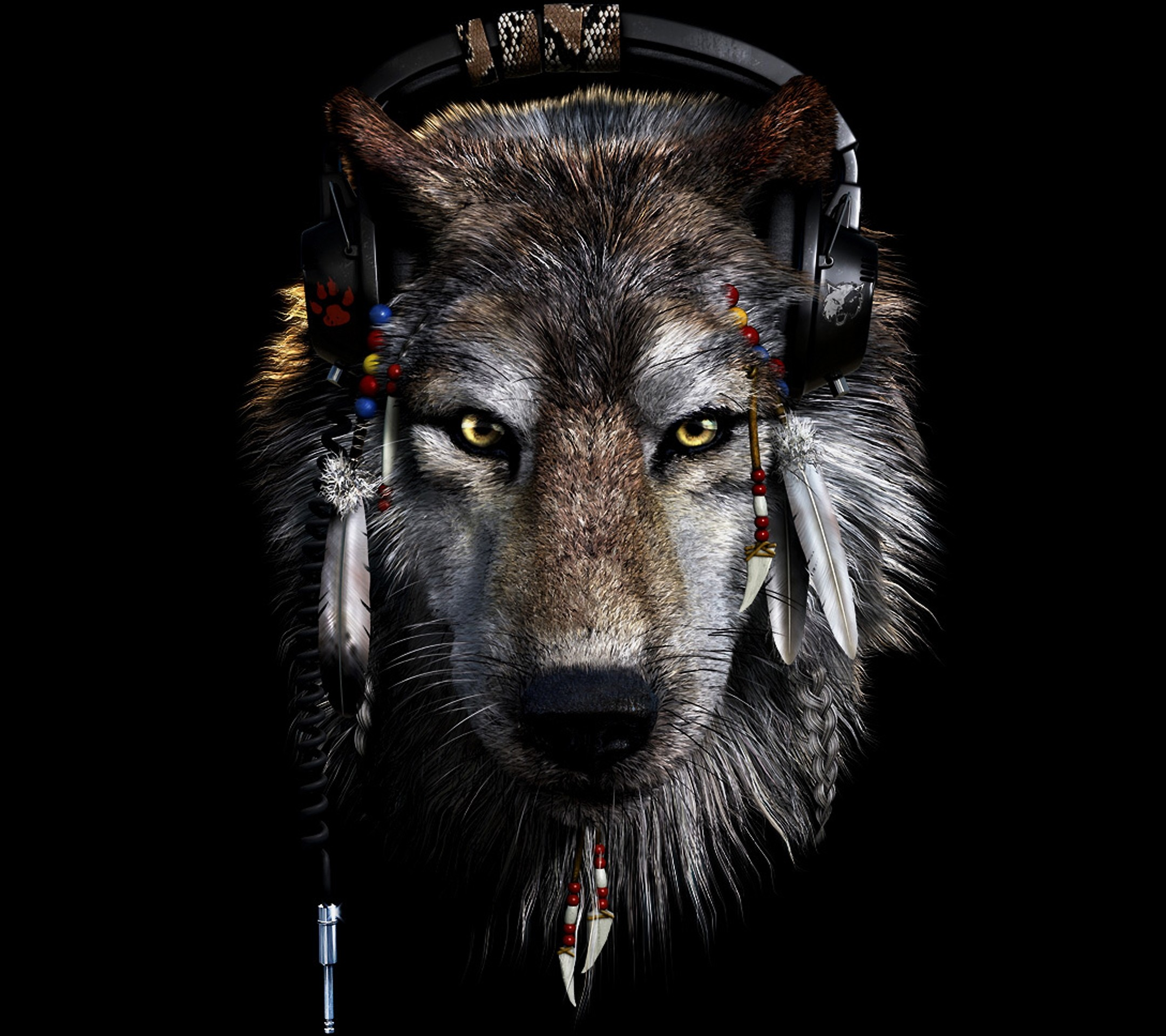 69 Abstract Wolf