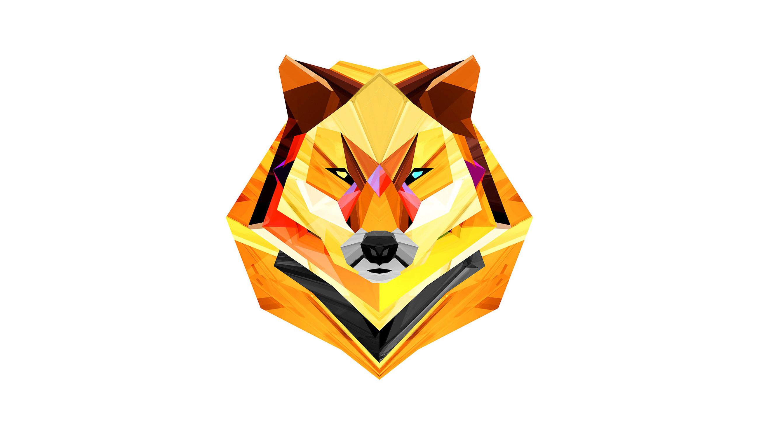 Wolf Head Wallpaper