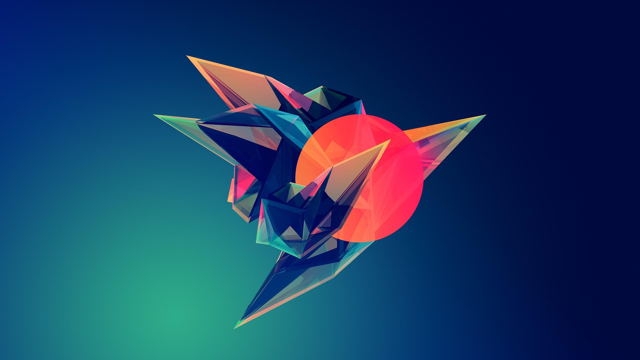 2 years ago Geometric Wolf Wallpaper