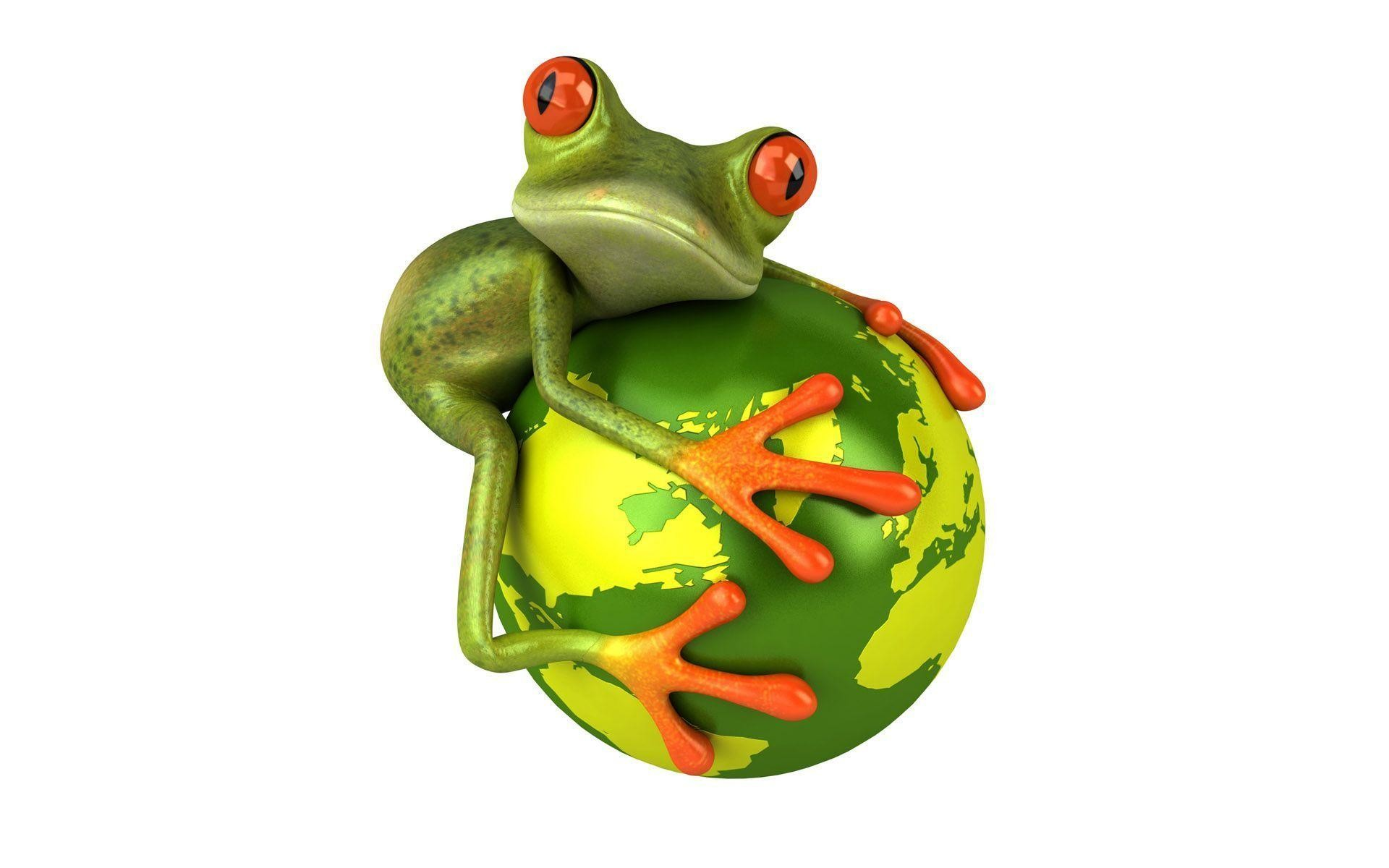 Animated Frog Backgrounds – Viewing Gallery