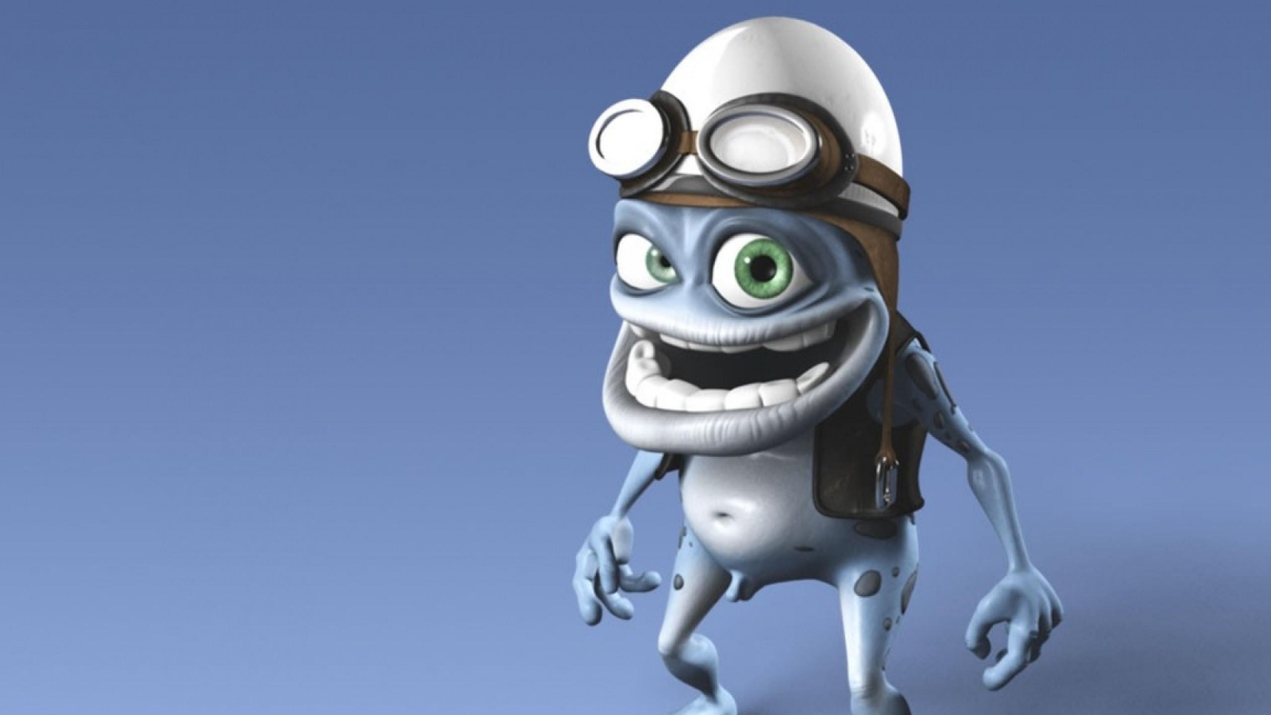 Wallpaper crazy frog, image, cap, smile, eyes