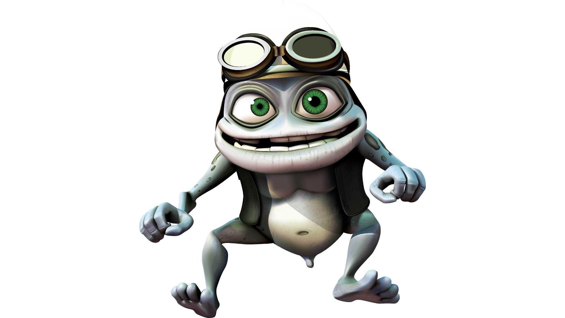 Crazy Frog backdrop wallpaper