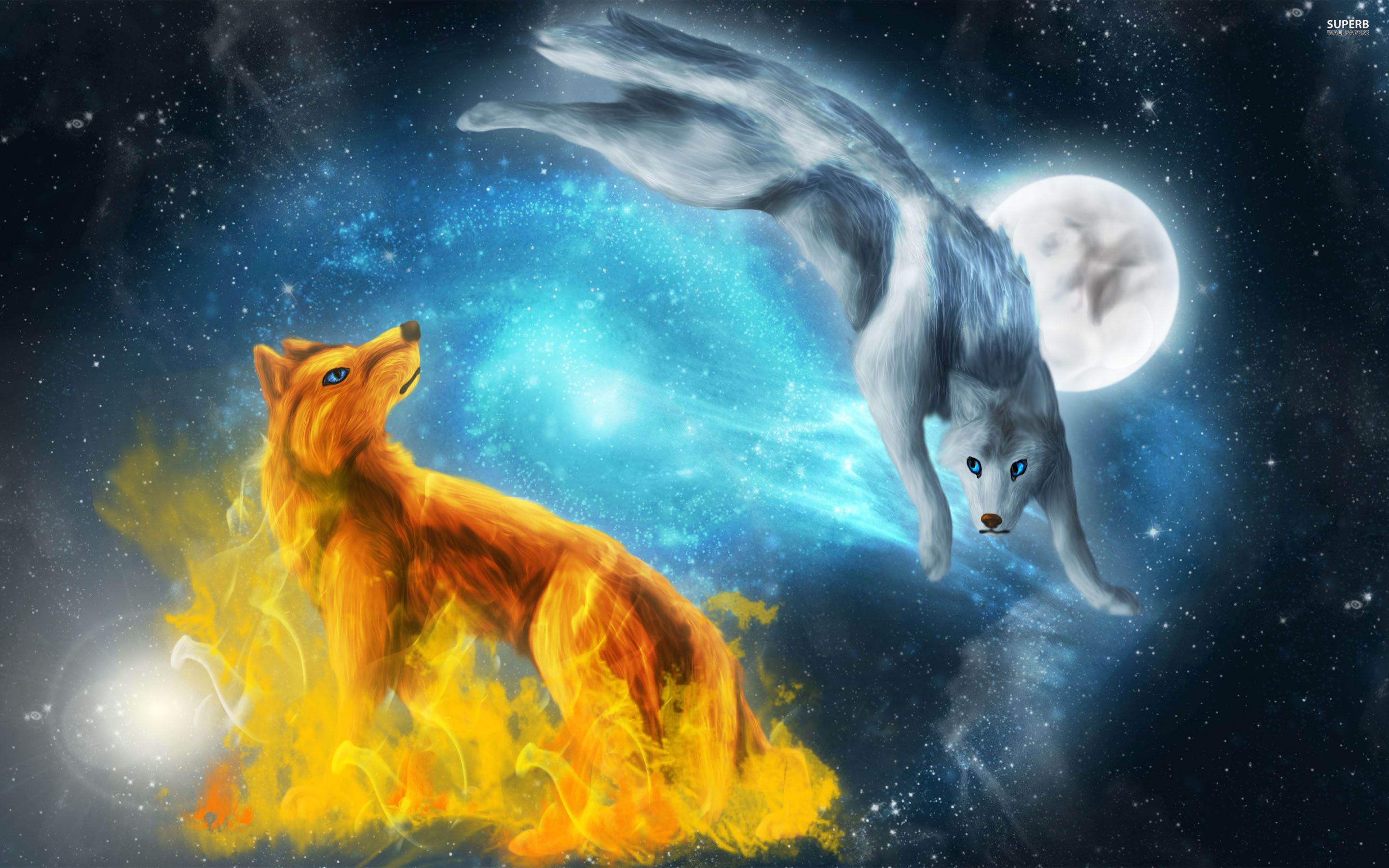 Wolves Wallpapers in High Definition | 2880×1800, by Mohammed Ober