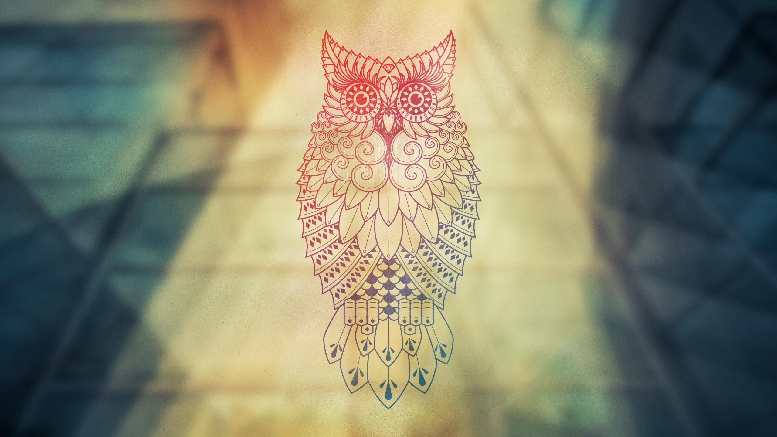 Owls Wallpaper Desktop Owl-desktop-wall-full